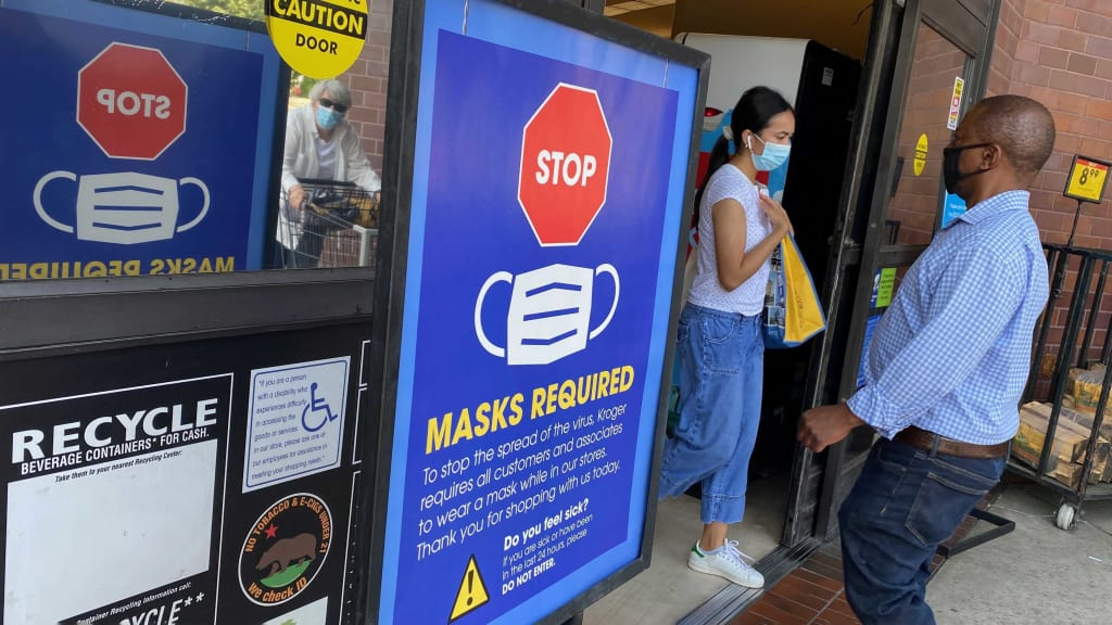 CDC Will Recommend Some People Wear Masks Indoors. What That Means for Maskless Businesses