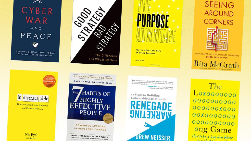 صقل مهاراتك في التفكير الاستراتيجي مع هذه الكتب الثمانية