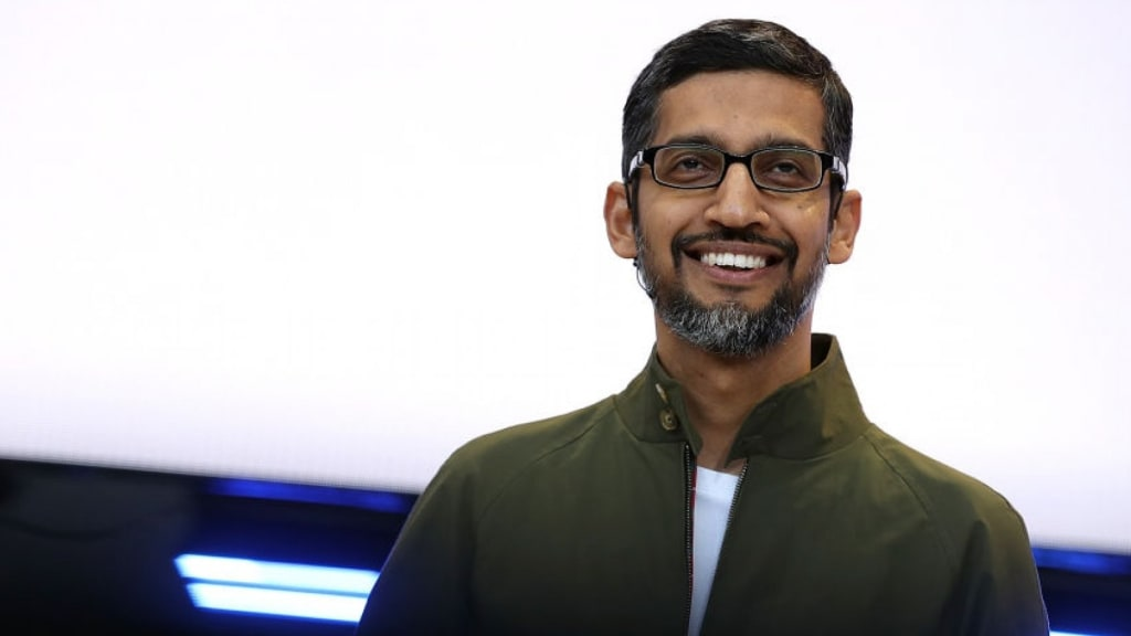 Google CEO Sundar Pichai Says His Mentor Asked Him 1 Question Every Week--and It Changed the Way He Leads