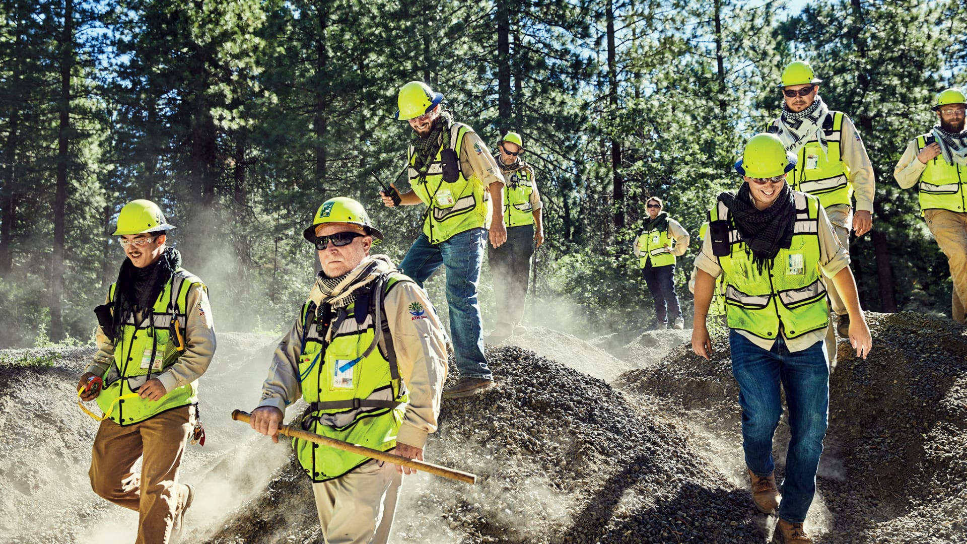 This Company Sends Foresters Into the Woods to Prevent Wildfires--and Save Lives