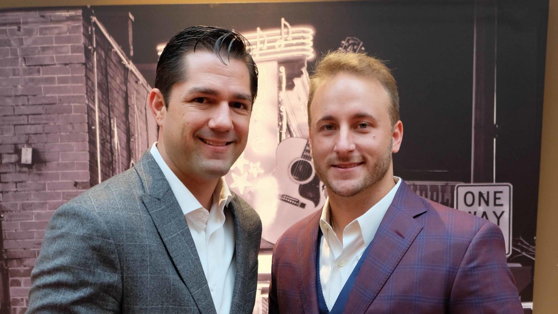 Derek Hebert and Colby Arceneaux.