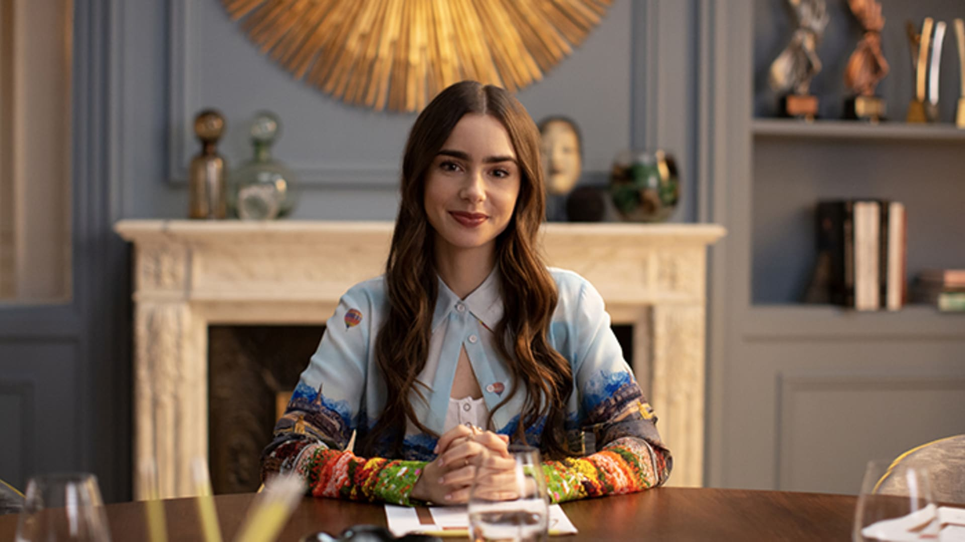 """Lily Collins as Emily Cooper in """"Emily in Paris."""""""