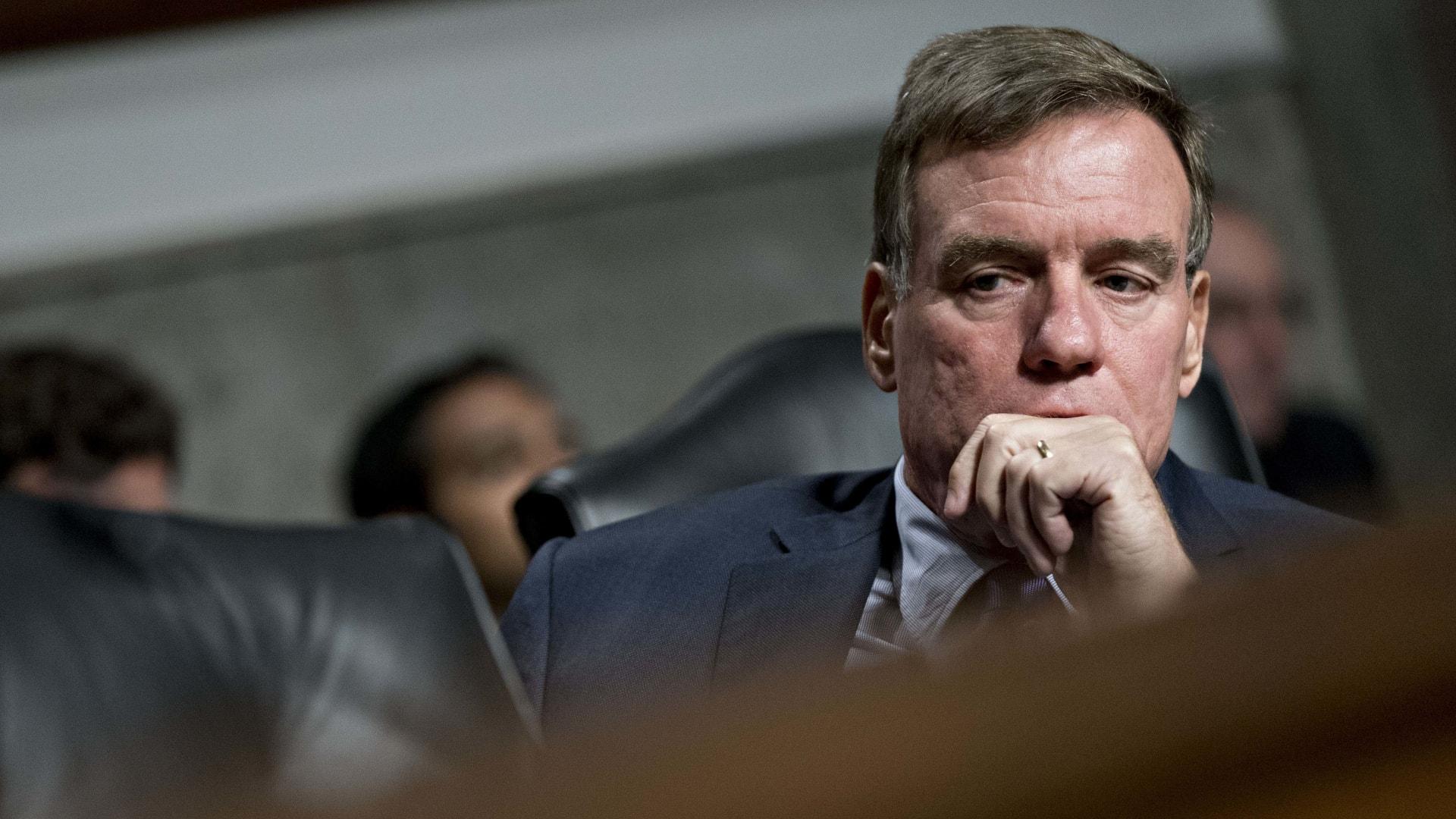 Senator Mark Warner.