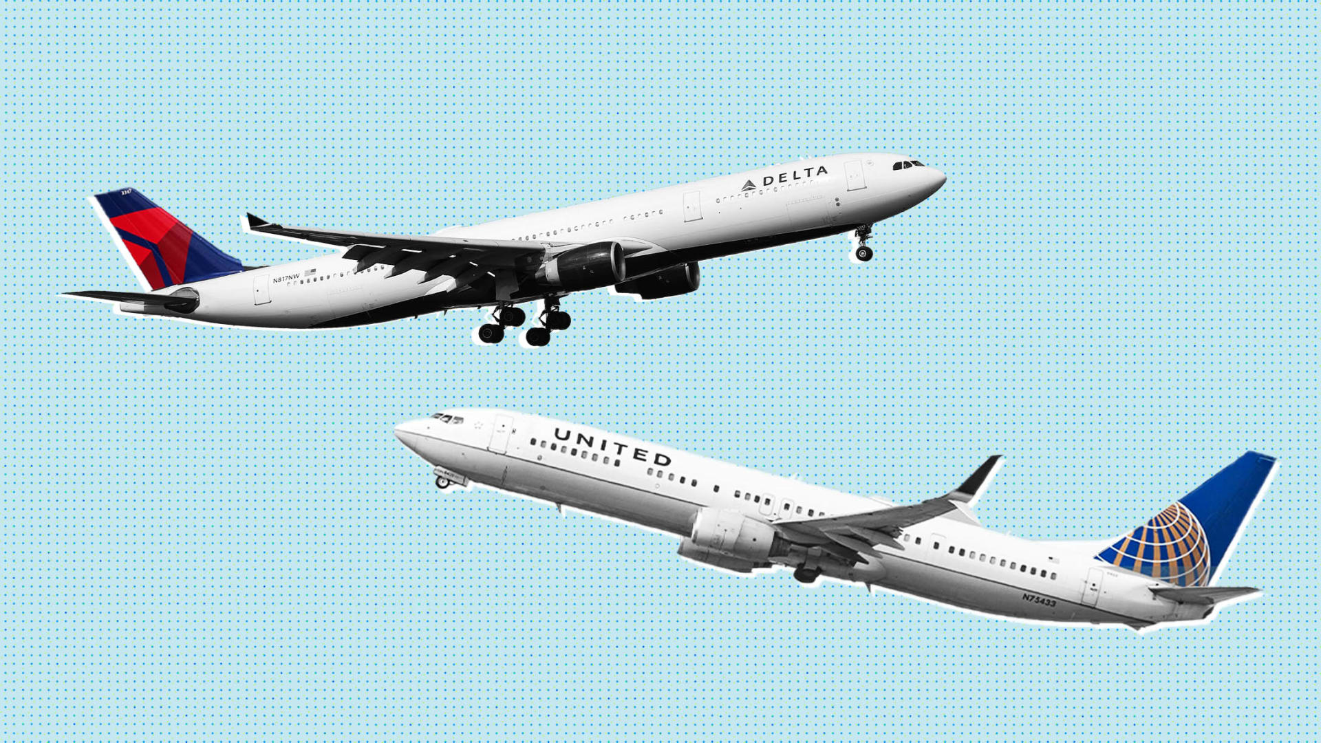 At Delta and United Airlines, These 2 Short Words Make a Big Difference for 2021