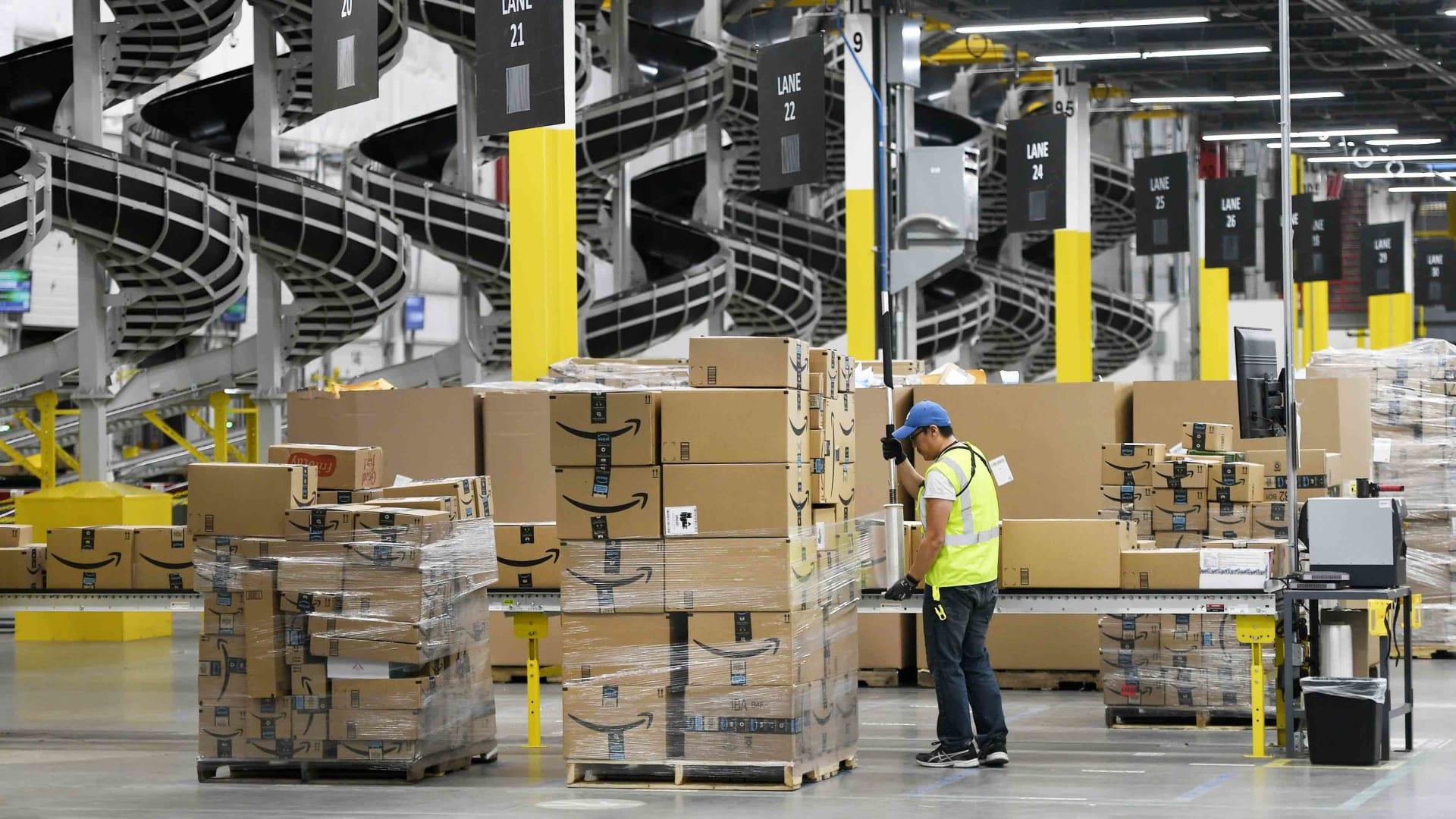 Amazon's Fulfillment Center in Thornton, Colorado.