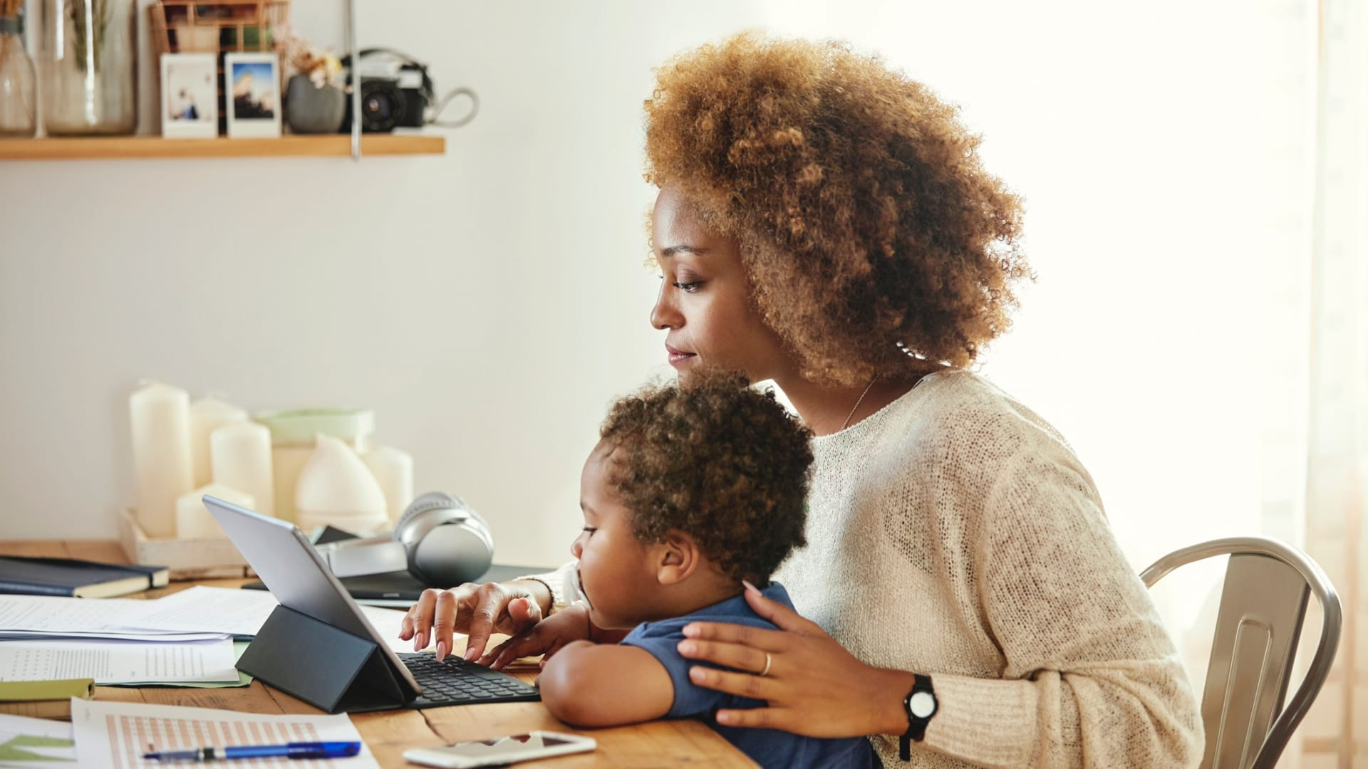 4 Ways to Survive Working (and Learning) From Home With Kids