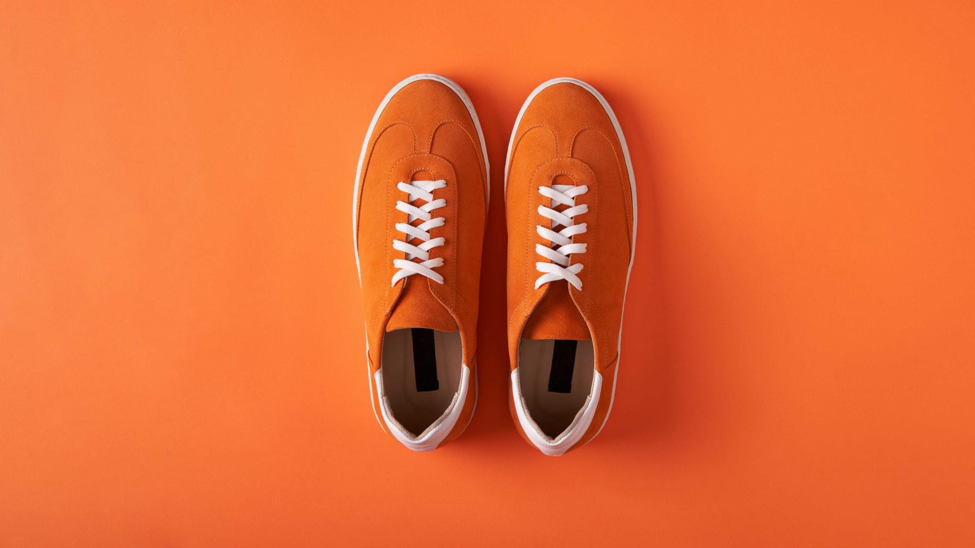 Why I Wear Orange Shoes Everyday