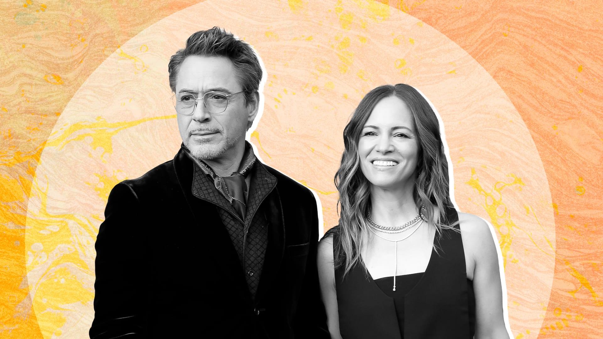 Robert Downey Jr. and Susan Downey.