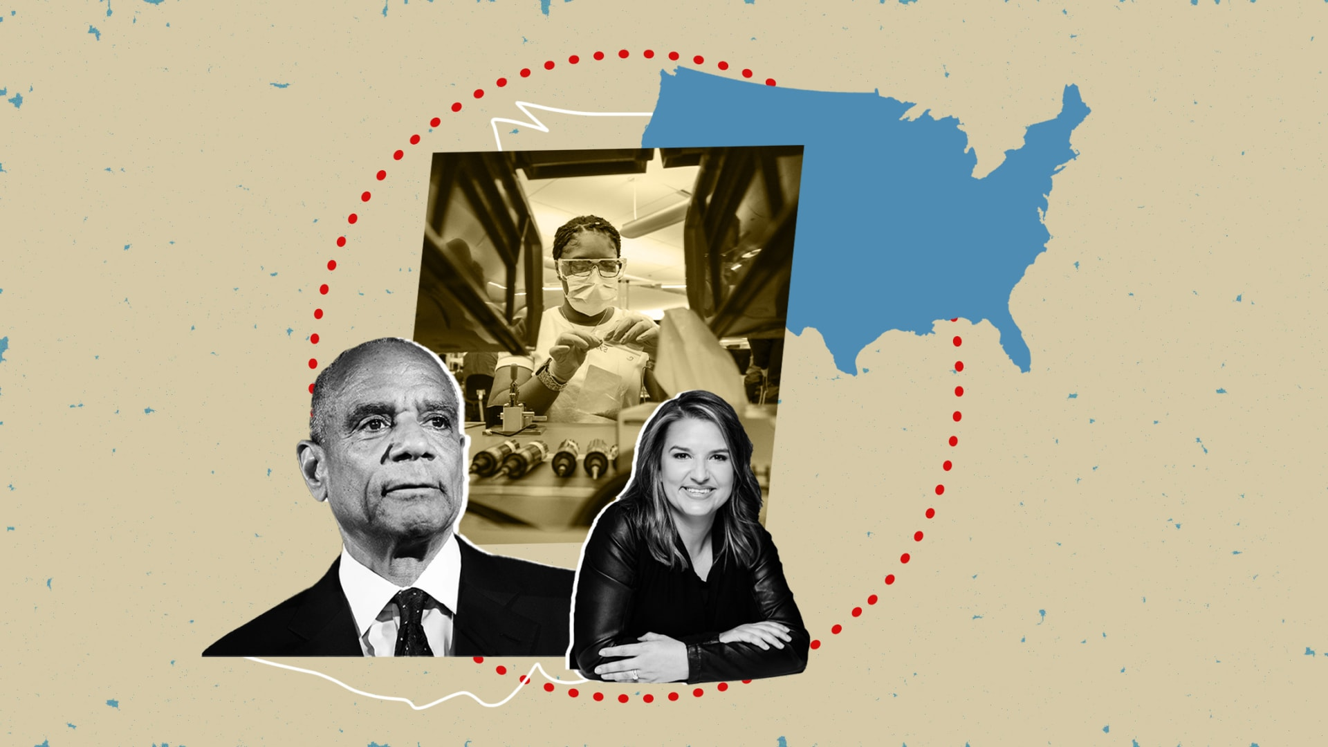 A Medium post by Ken Chenault and Rachel Romer Carlson grew into a consortium of businesses helping during the pandemic.