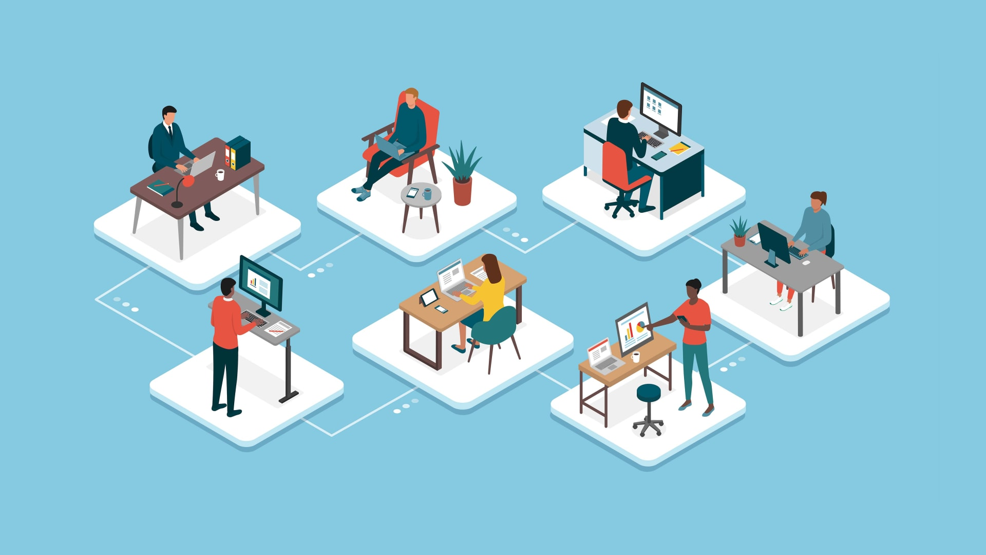 Does Remote Work Really Work? 4 CEOs on the Future of Their Workplaces