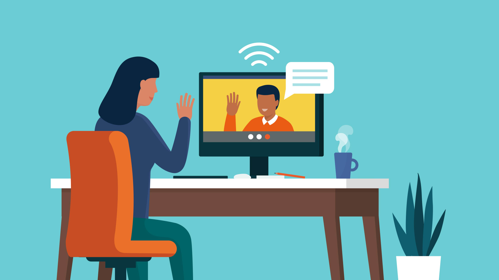 Show your human side when managing remote.