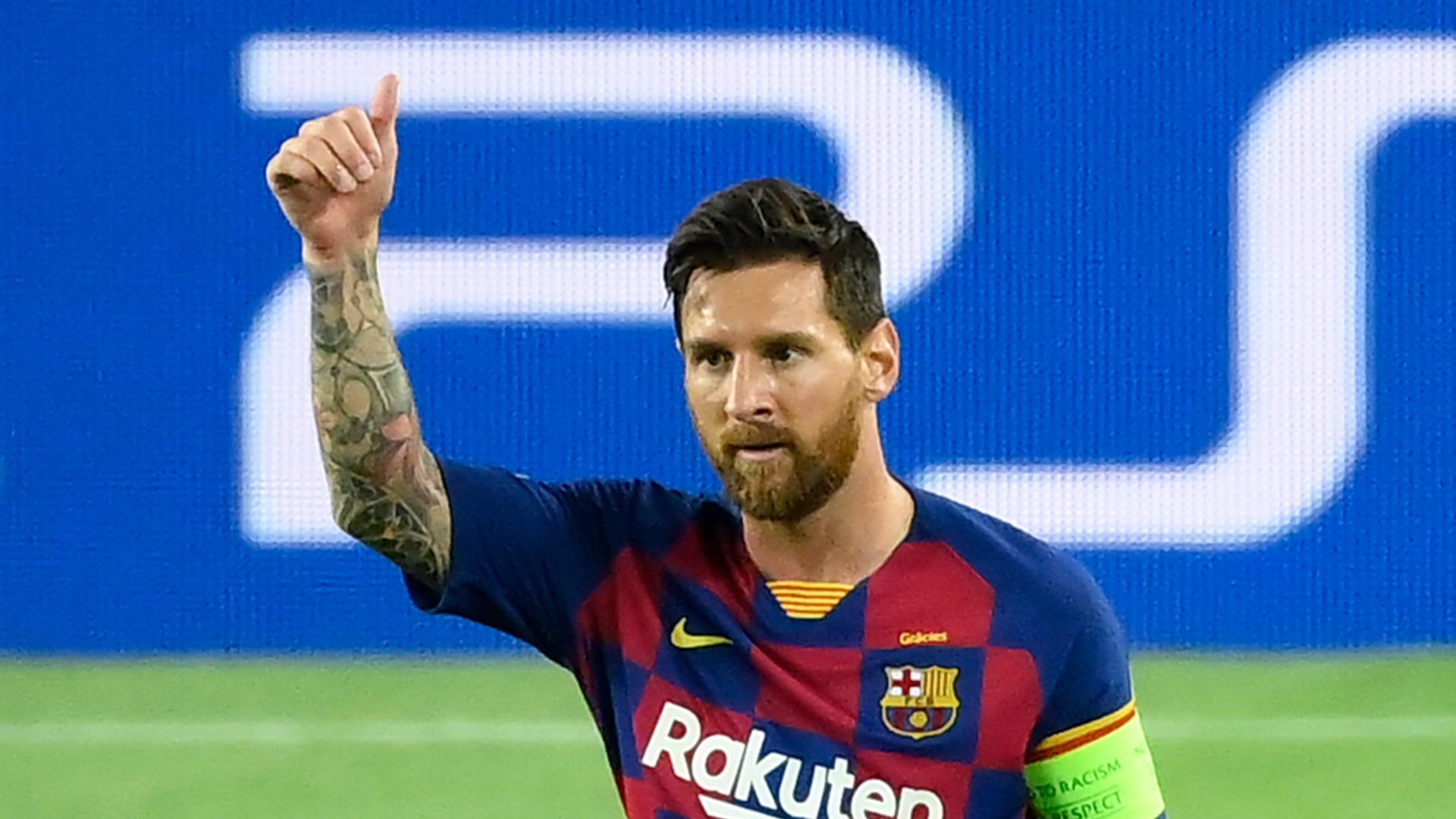 Barcelona's Argentine forward Lionel Messi.