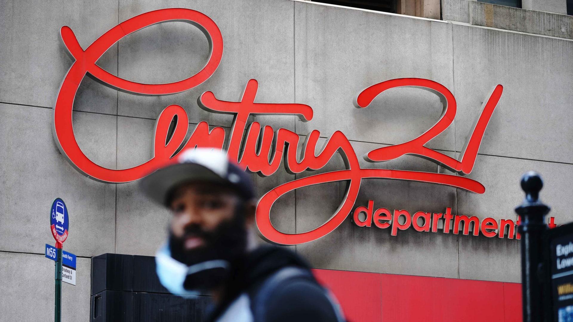 Century 21 department store in Lower Manhattan.