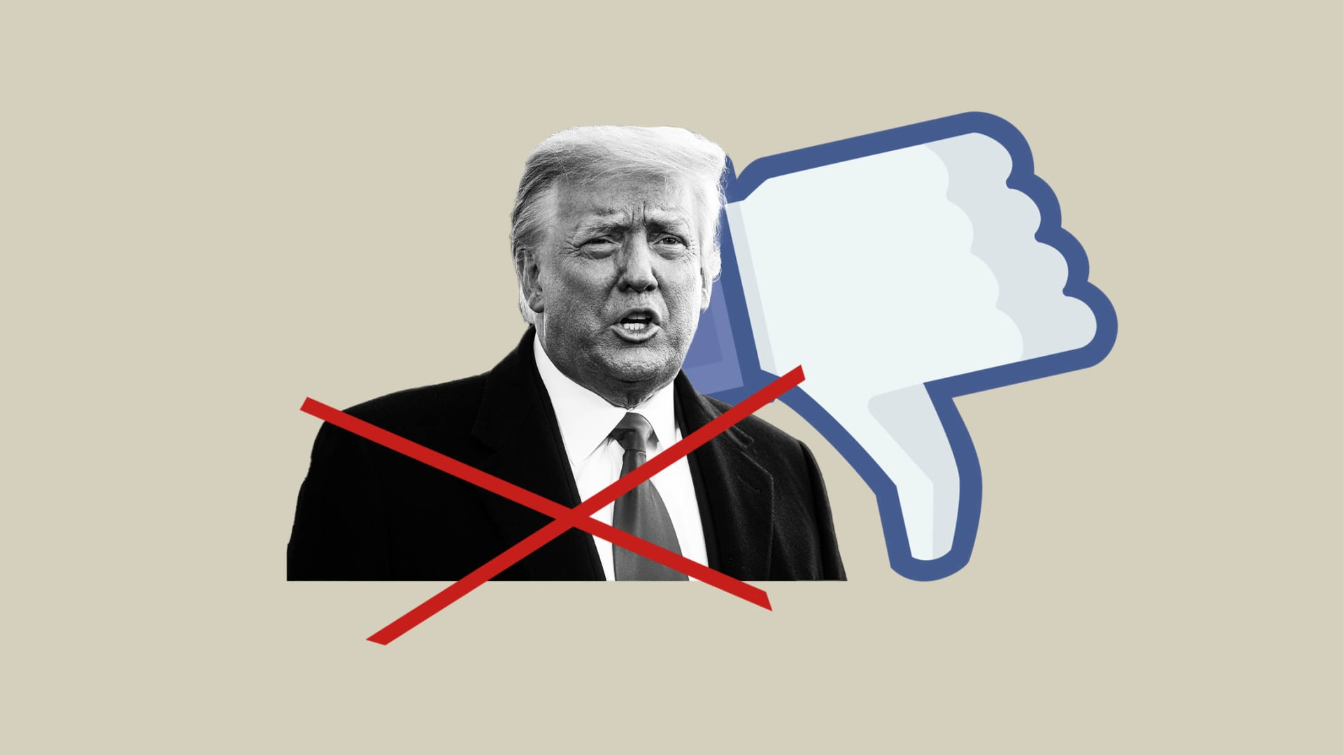 With Just 6 Words, the Oversight Board Issued a Devastating Takedown of Facebook's Decision to Ban Trump