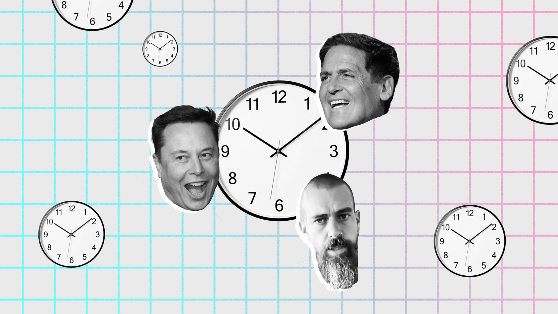 How the Daily Routines of Jack Dorsey, Elon Musk, and Mark Cuban Propel Their Success