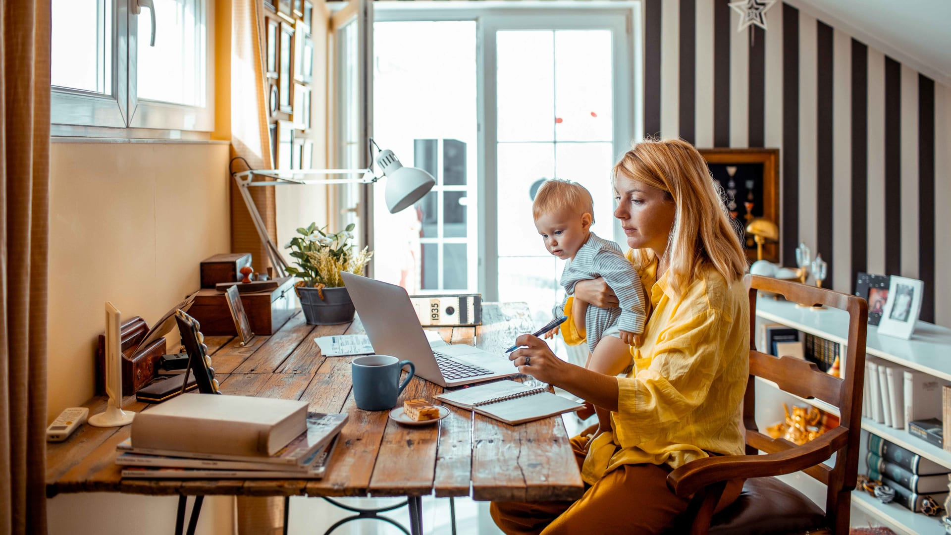 Parents Want to Work From Home. Here's Why They Shouldn't, a Stanford Professor Says