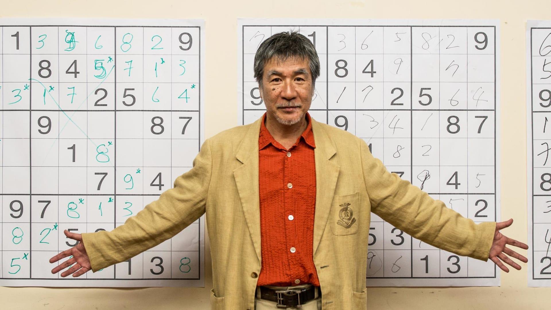 Maki Kaji during the Sudoku first national competition in Sao Paulo, Brazil, on September 29, 2012.