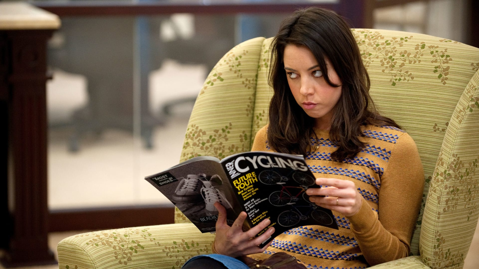 """The character April Ludgate in """"Parks and Recreation."""""""