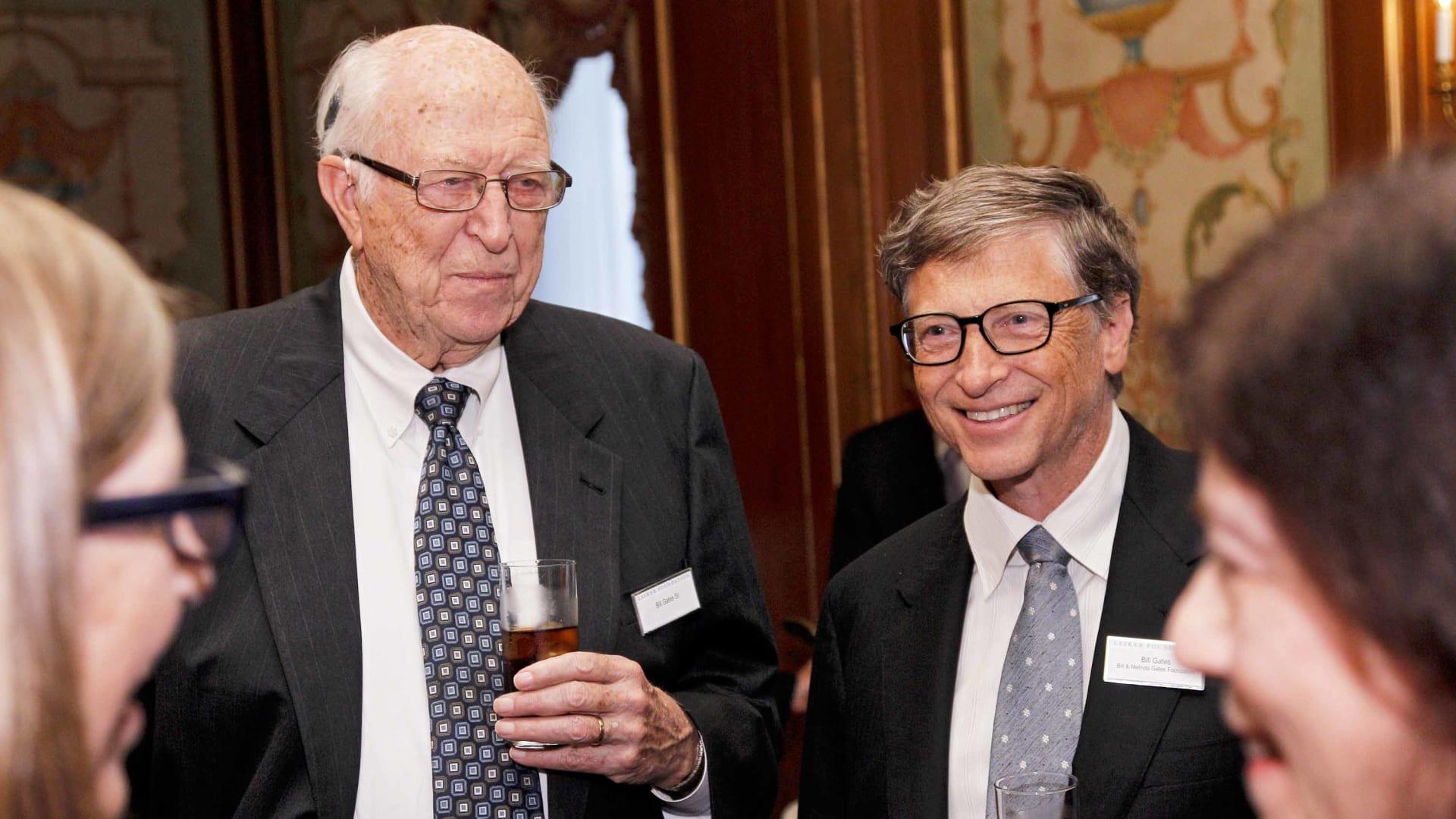 Bill Gates Sr and Bill Gates