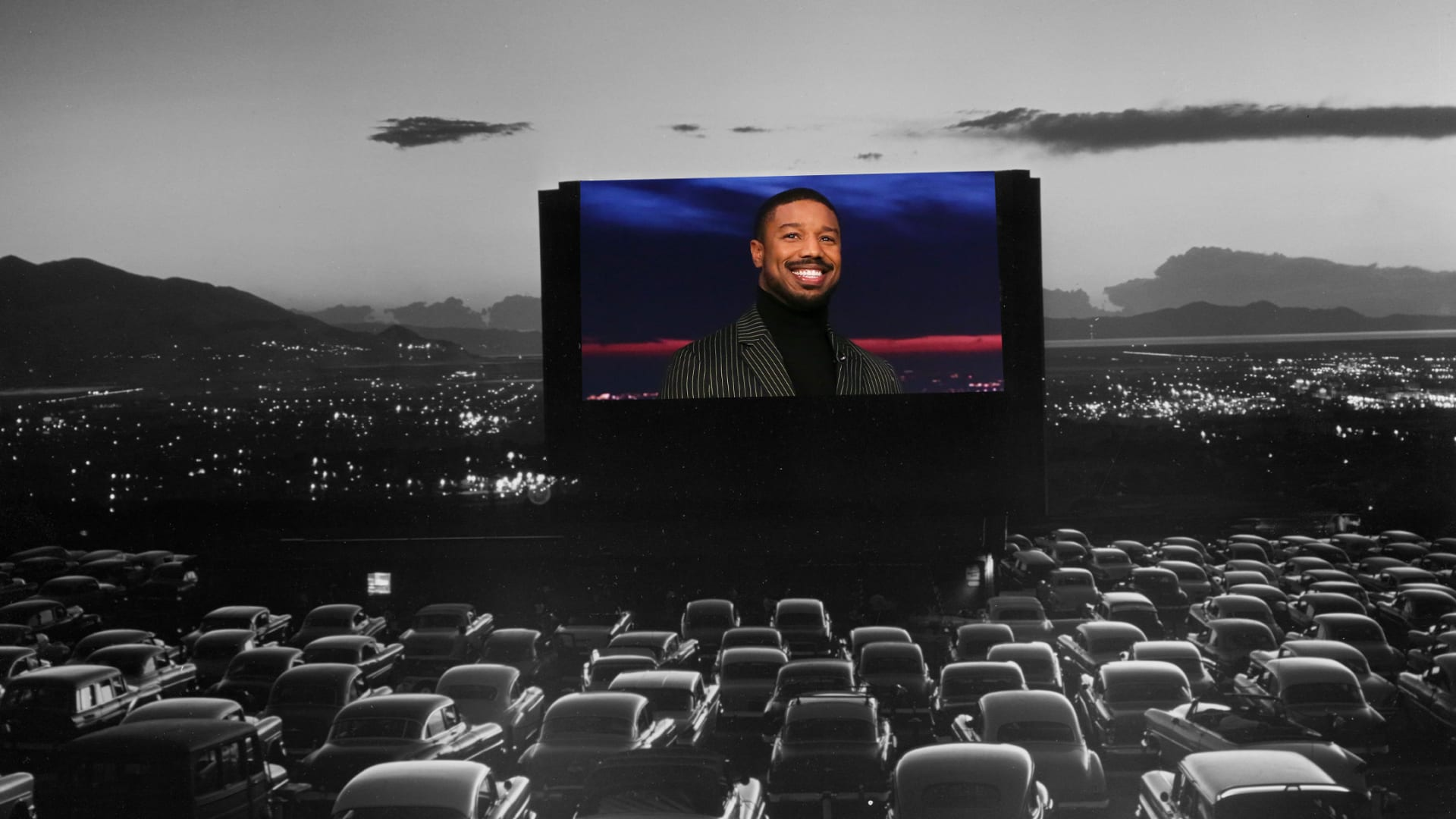 Actor and producer Michael B. Jordan is giving back with summer drive-in movie shows.