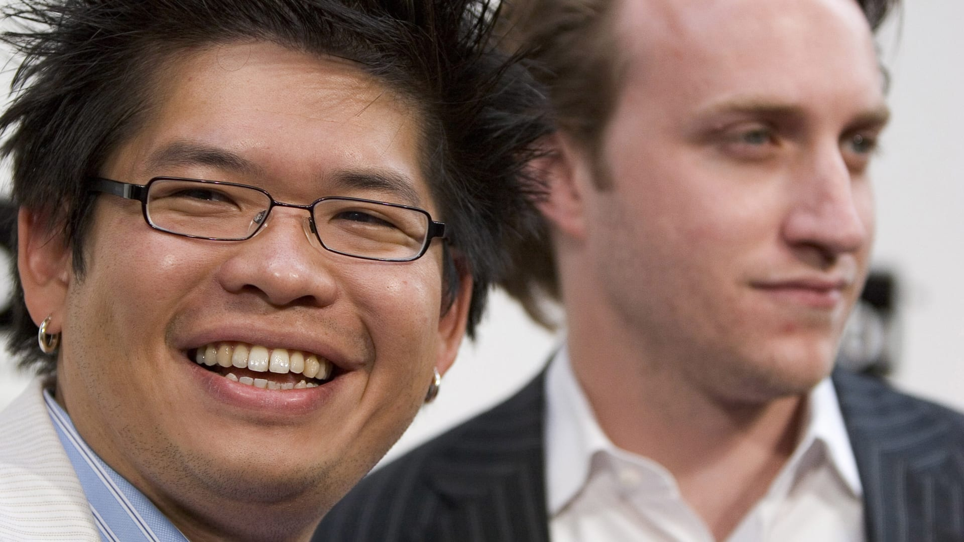 Steve Chen and Chad Hurley of YouTube.