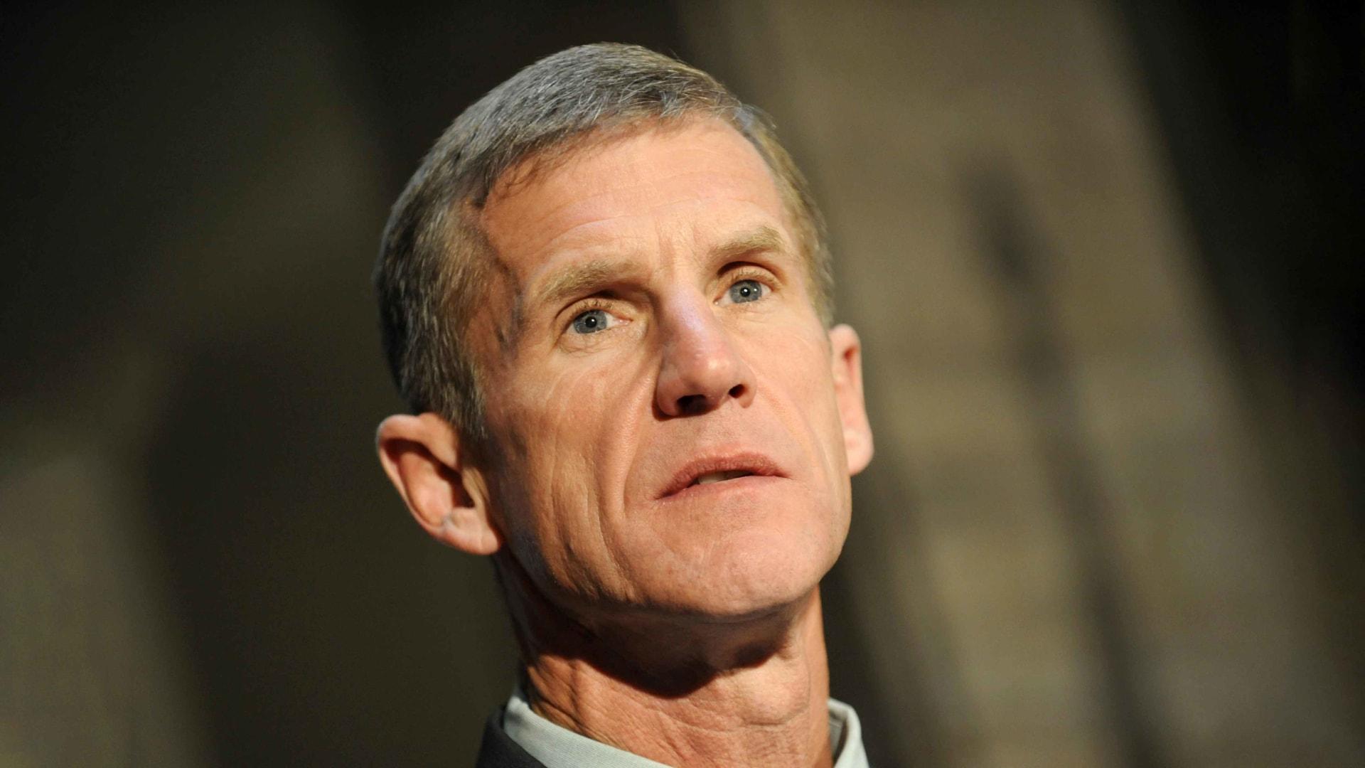 Stanley McChrystal.