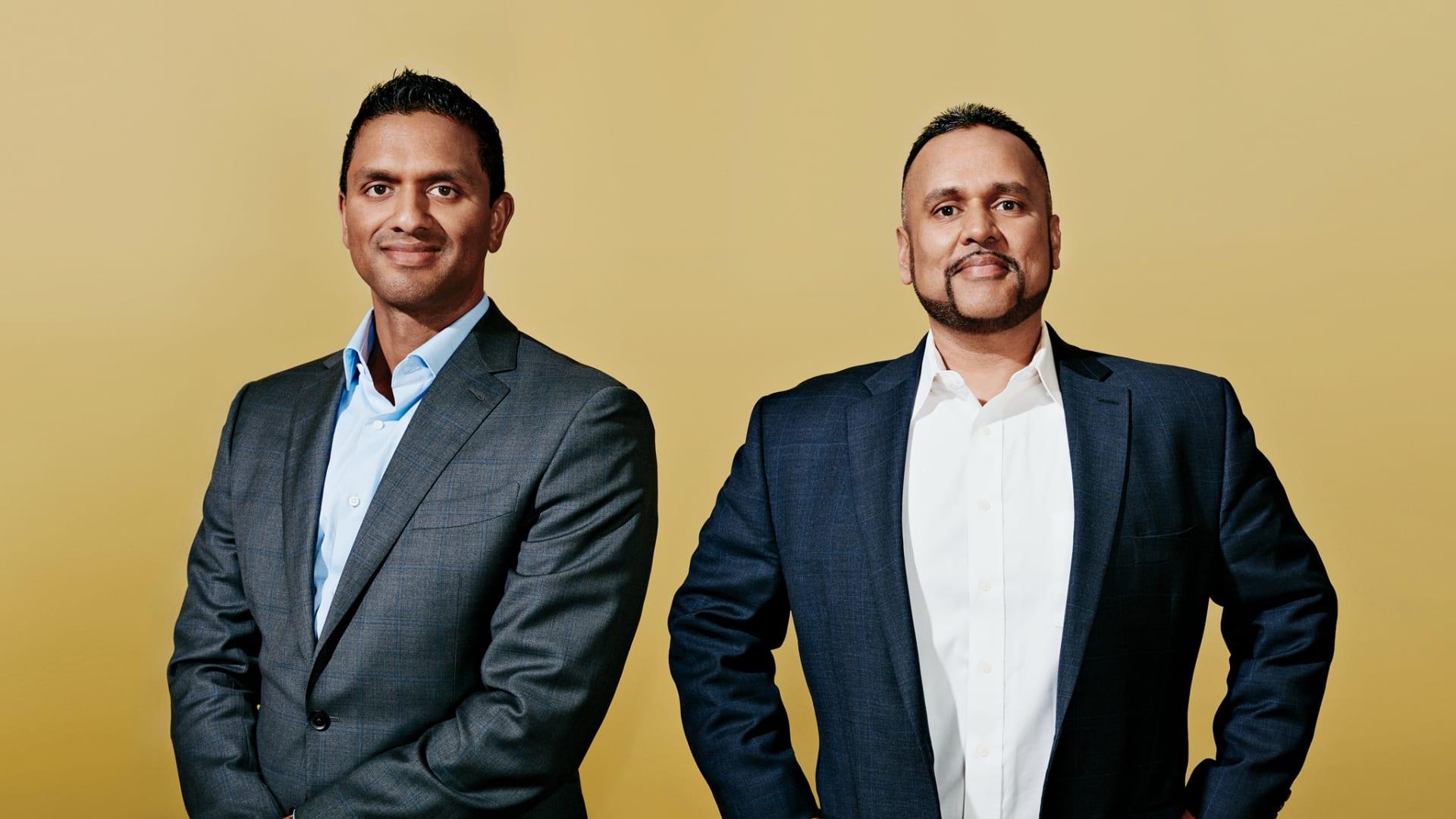 Ranil Piyaratna (left) and Geetesh Goyal, co-founders of Human Bees.