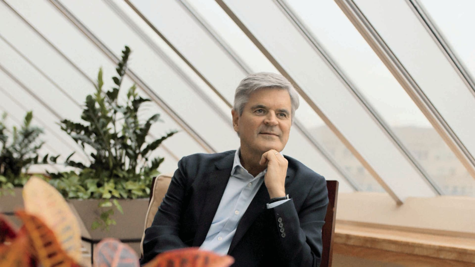 Steve Case, here in his Washington, D.C., offices, started the Rise of the Rest seed fund to support startups outside of Startup Country. He likes what he's getting for his money.