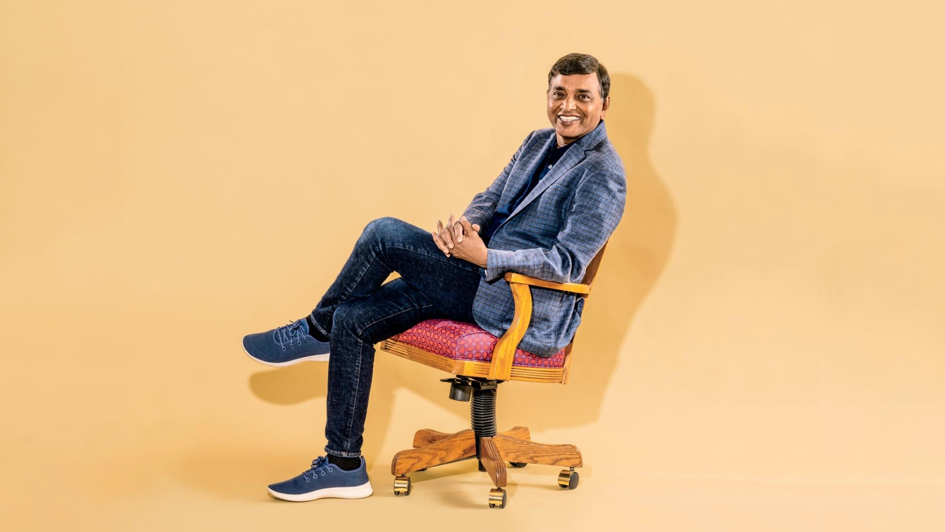 Krish Ramakrishnan, co-founder of BlueJeans Network.
