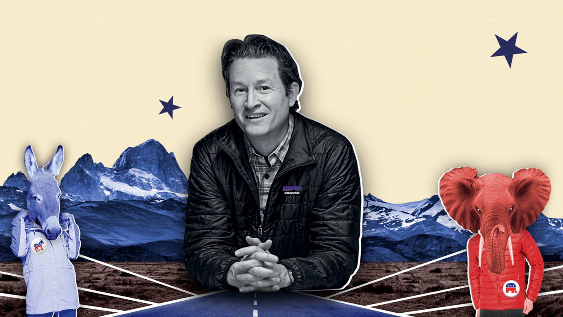 Ryan Gellert, CEO of Patagonia.