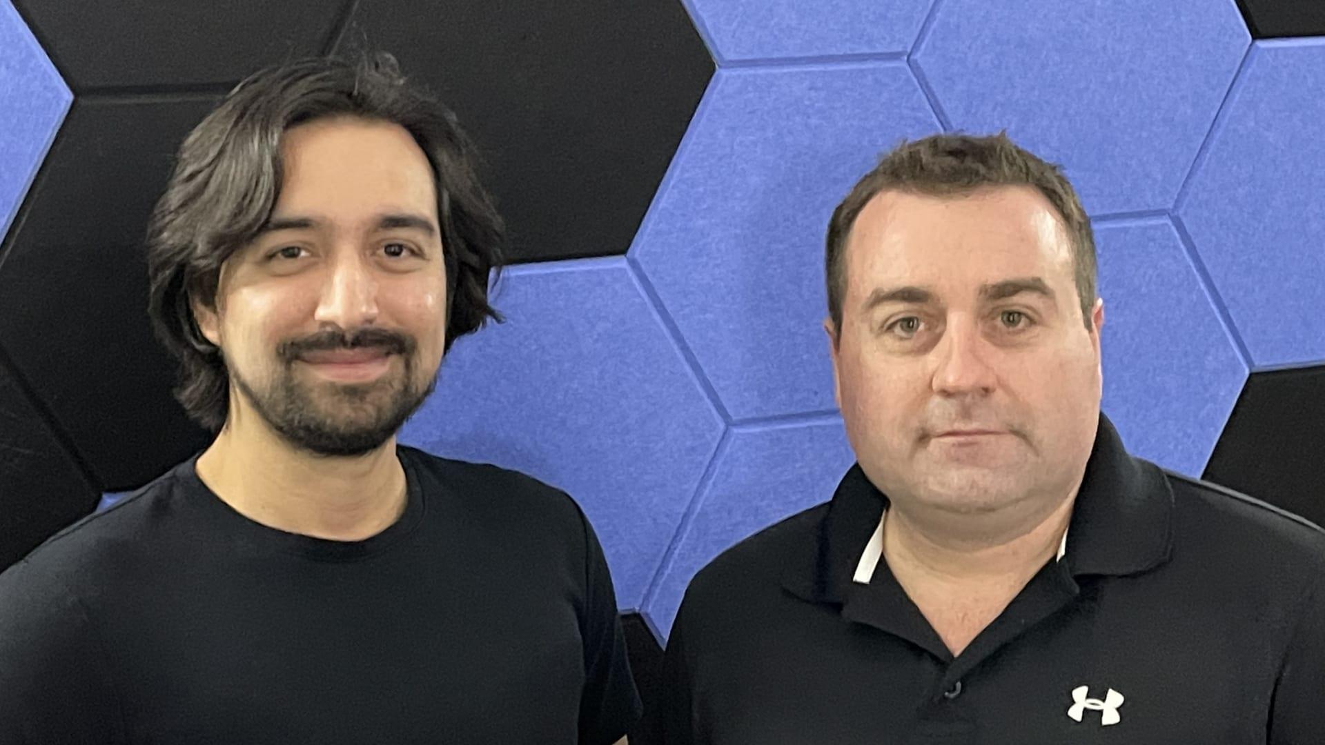 Dennis Plunkett(left) and Chris Gardner (right)