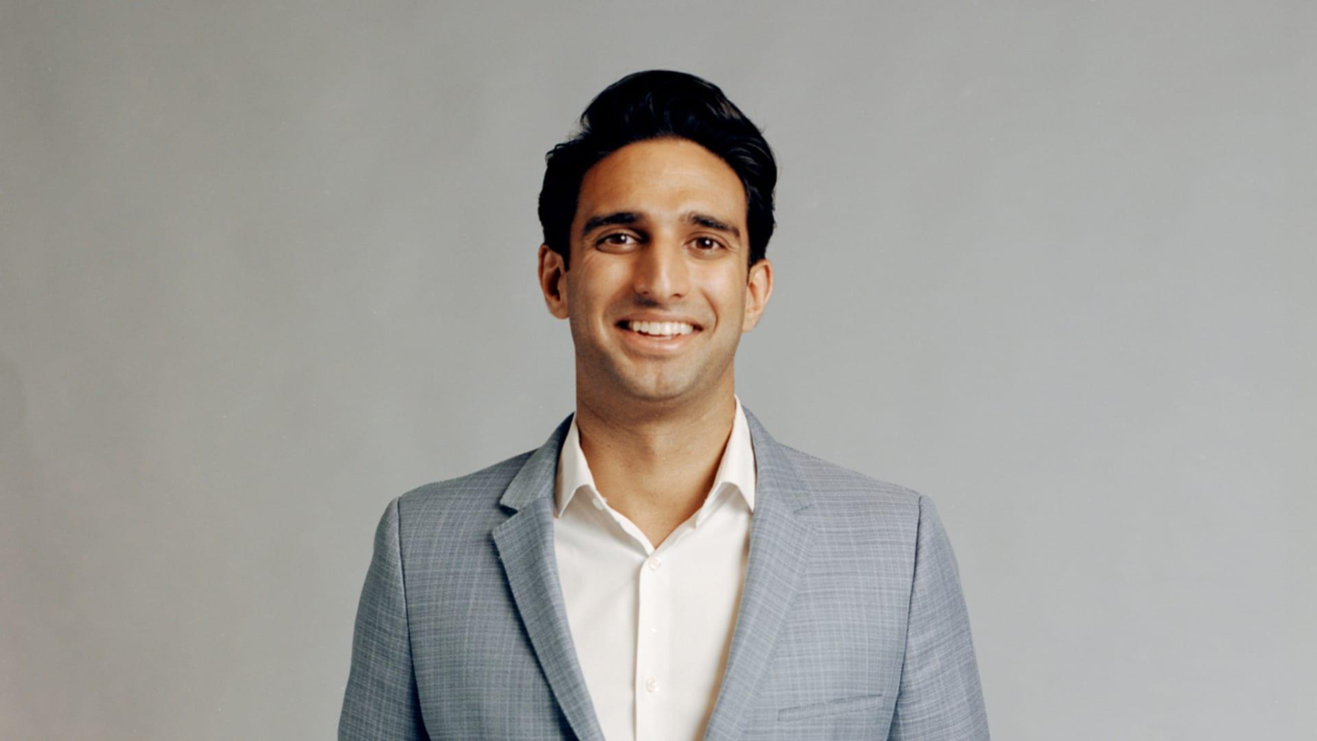 Kabir Barday, founder of OneTrust.