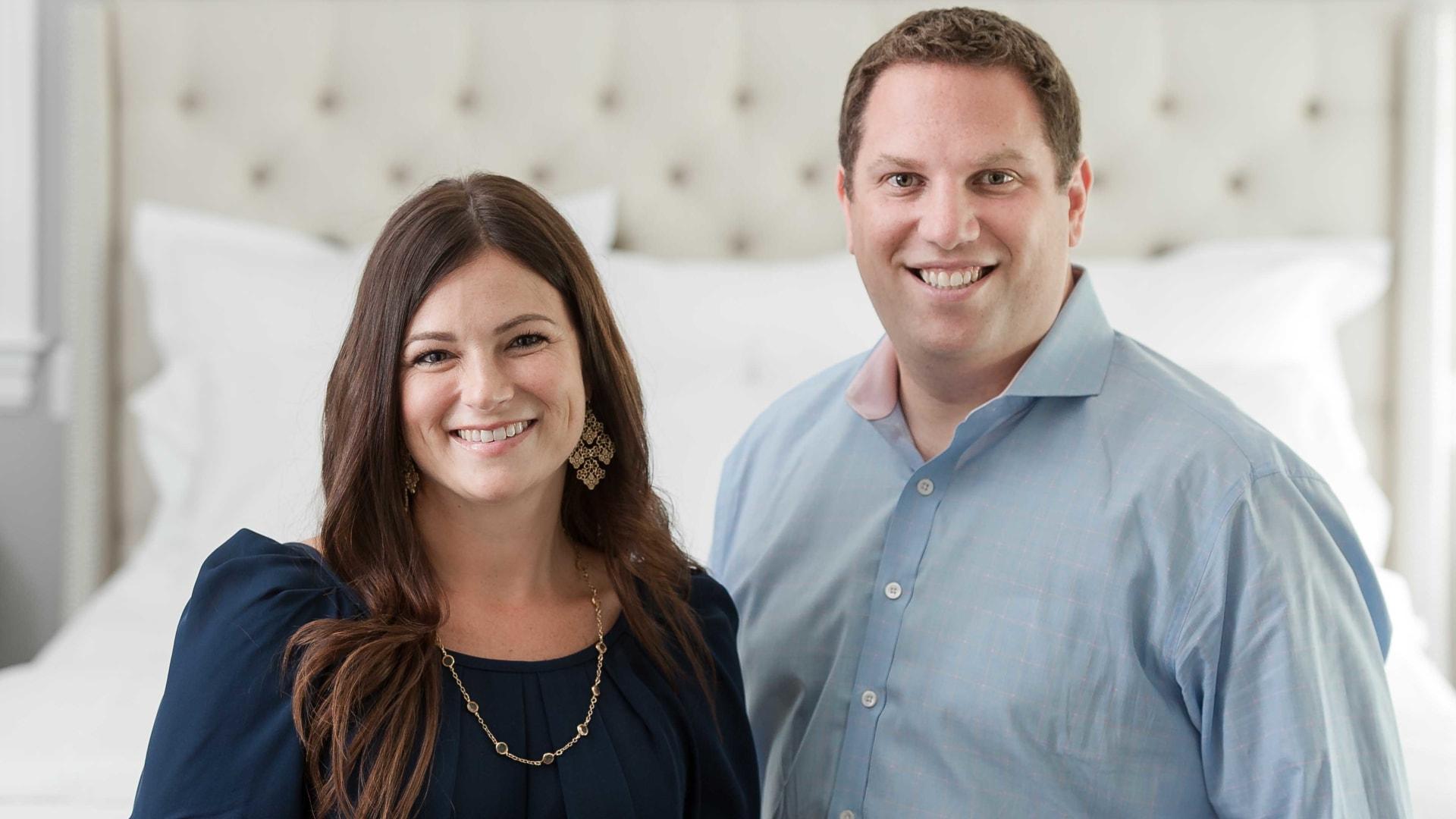 Missy and Scott Tannen.