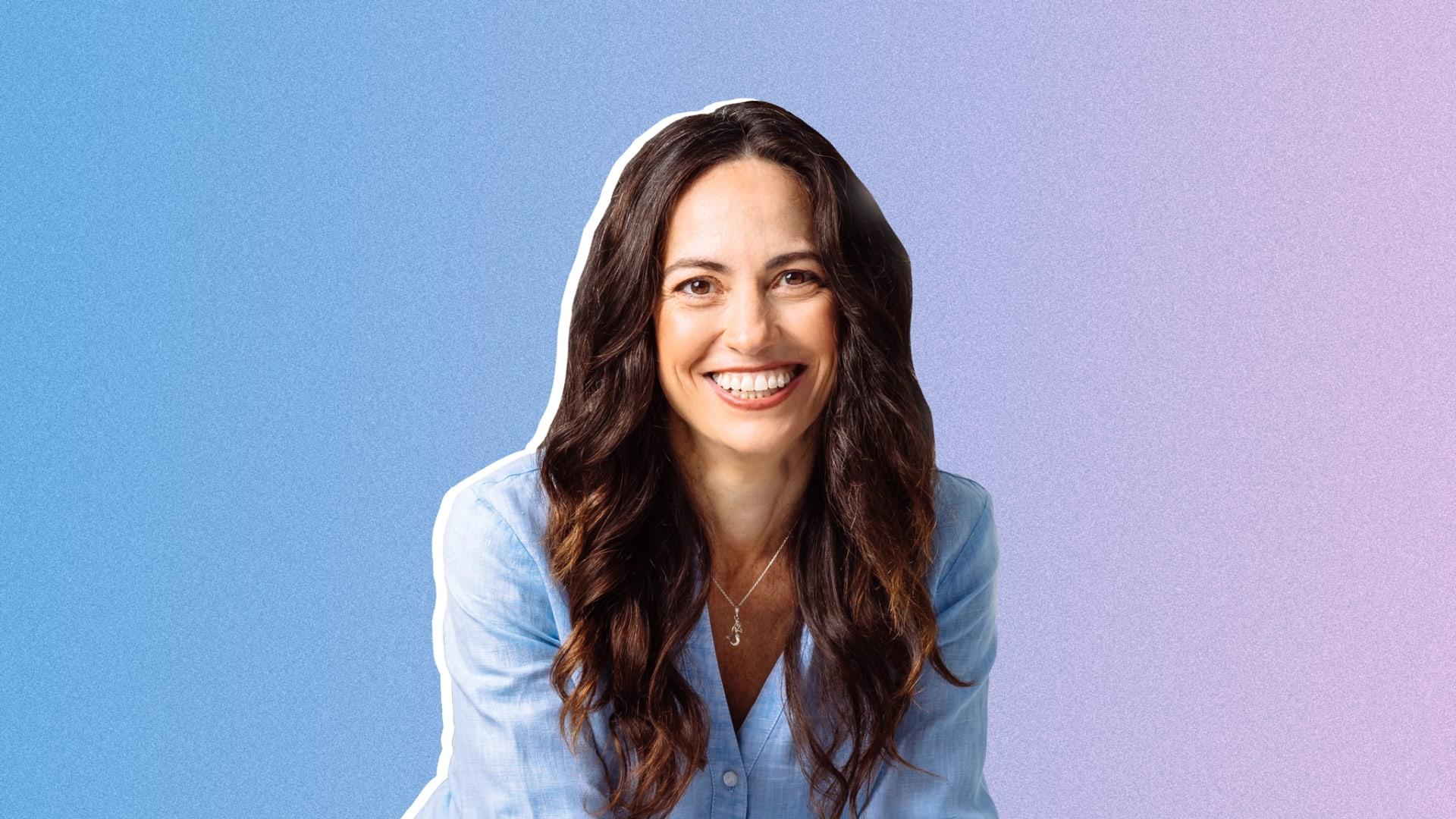 Entrepreneur Nicole Bernard Dawes, founder of Nixie Sparkling Water.