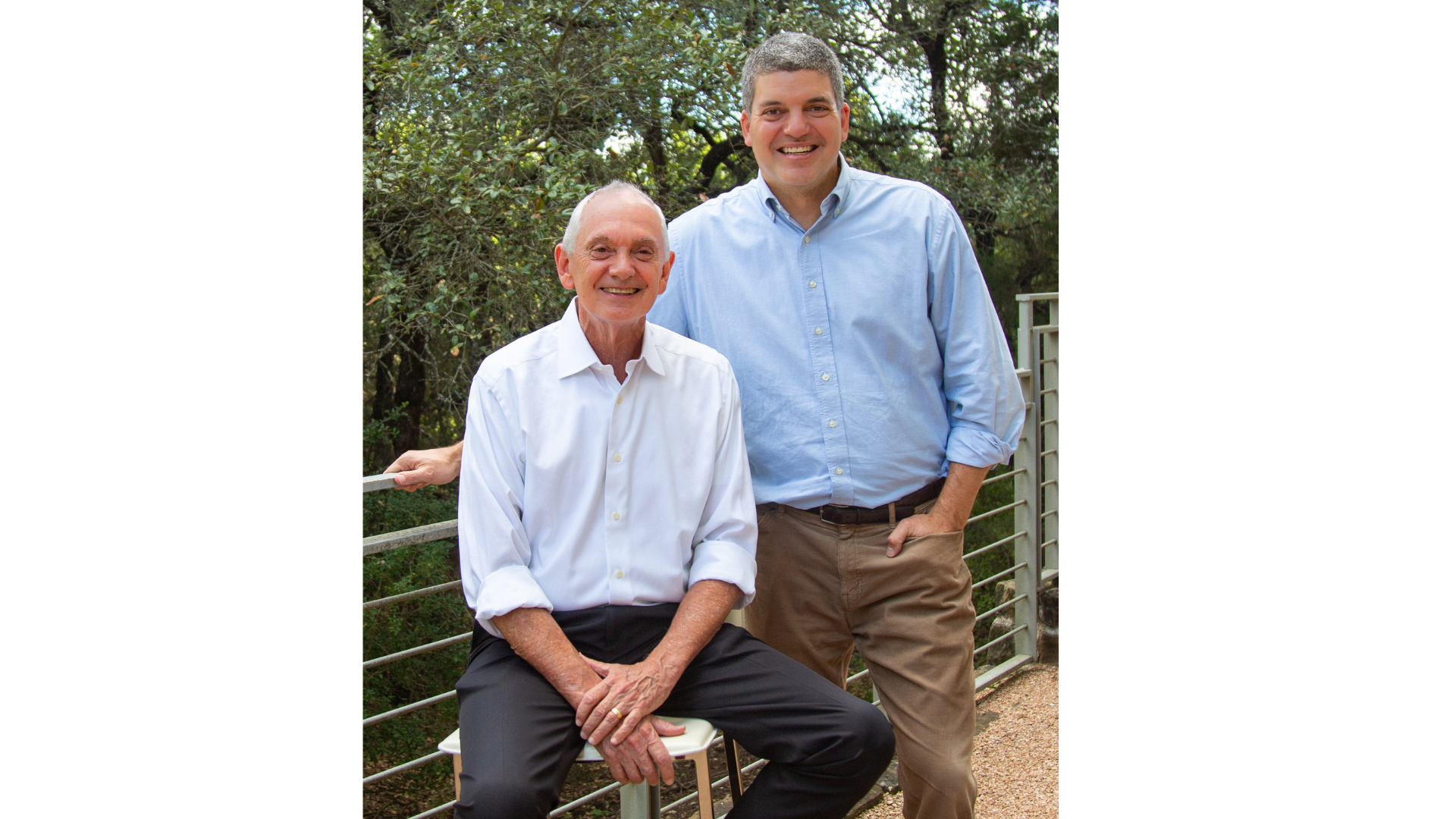 Founder, Tony Dale and CEO, Jamie Lagarde
