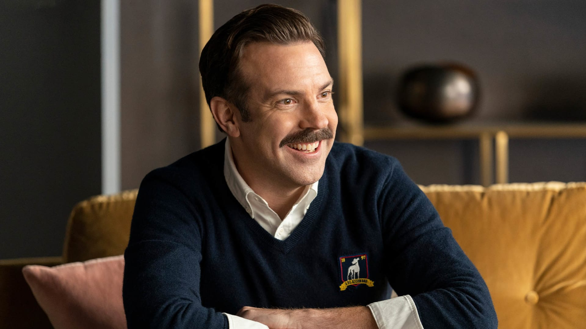 Jason Sudeikis in 'Ted Lasso.'