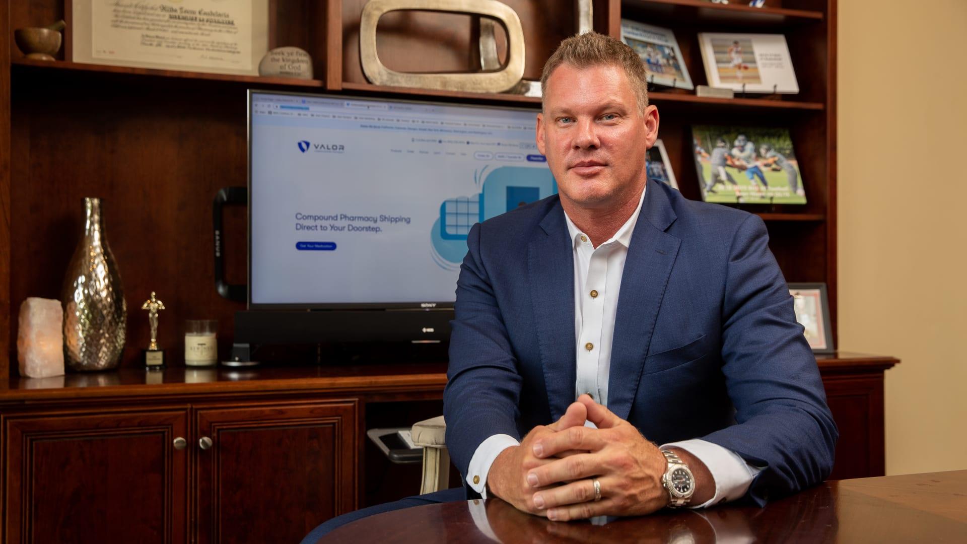 Rick Niemi, CEO of Valor Compounding Pharmacy