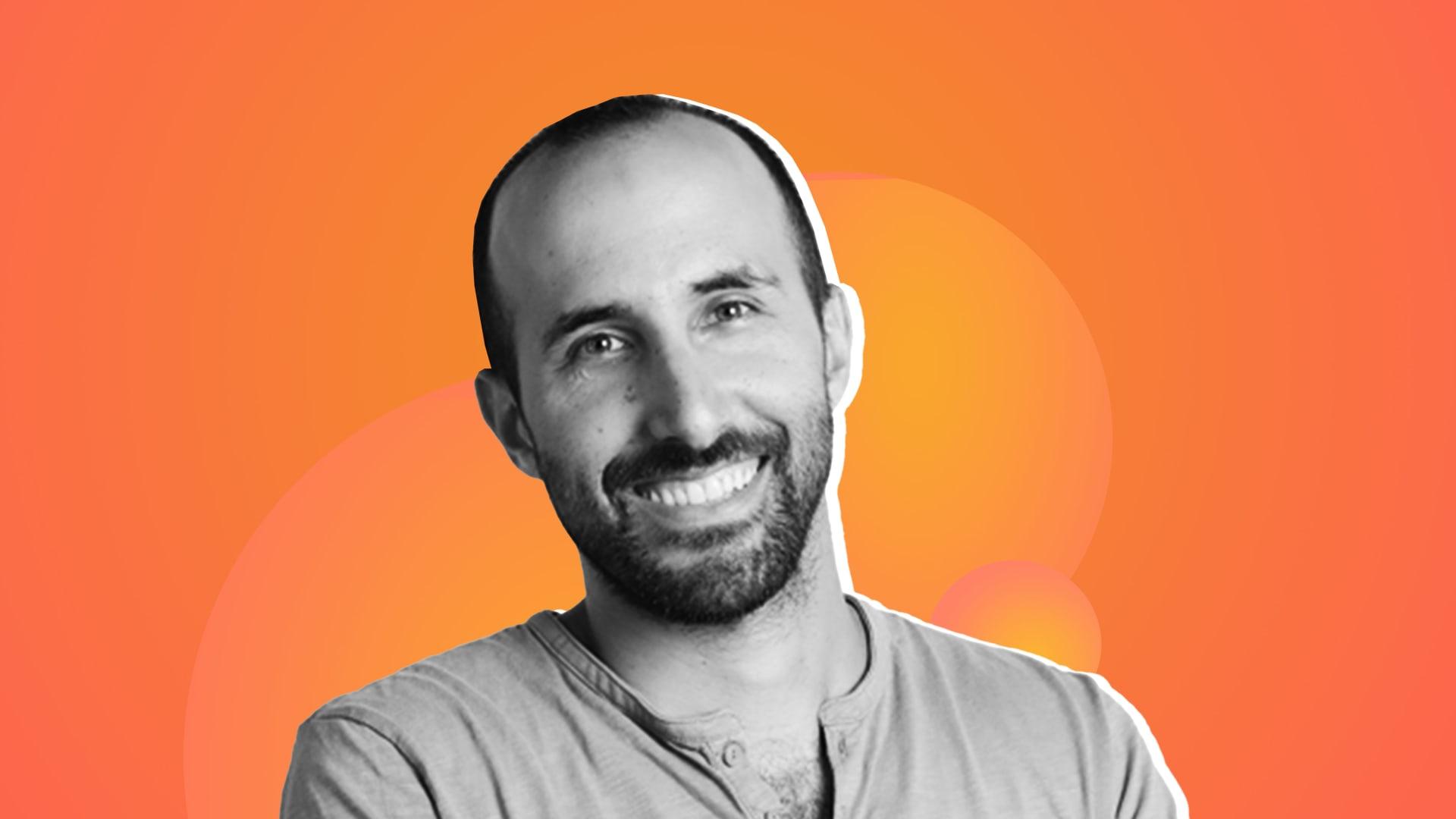 Yoni Tserruya, co-founder and CEO of Lusha.