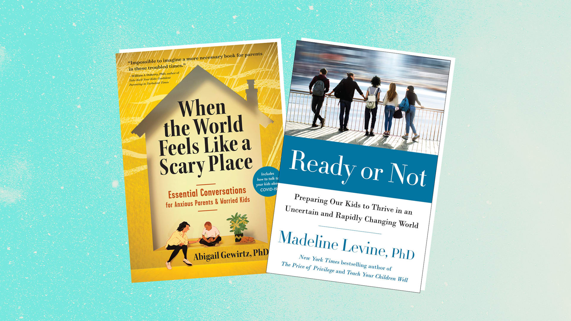 2 Books to Help You Be a Better Parent in Crazy Times