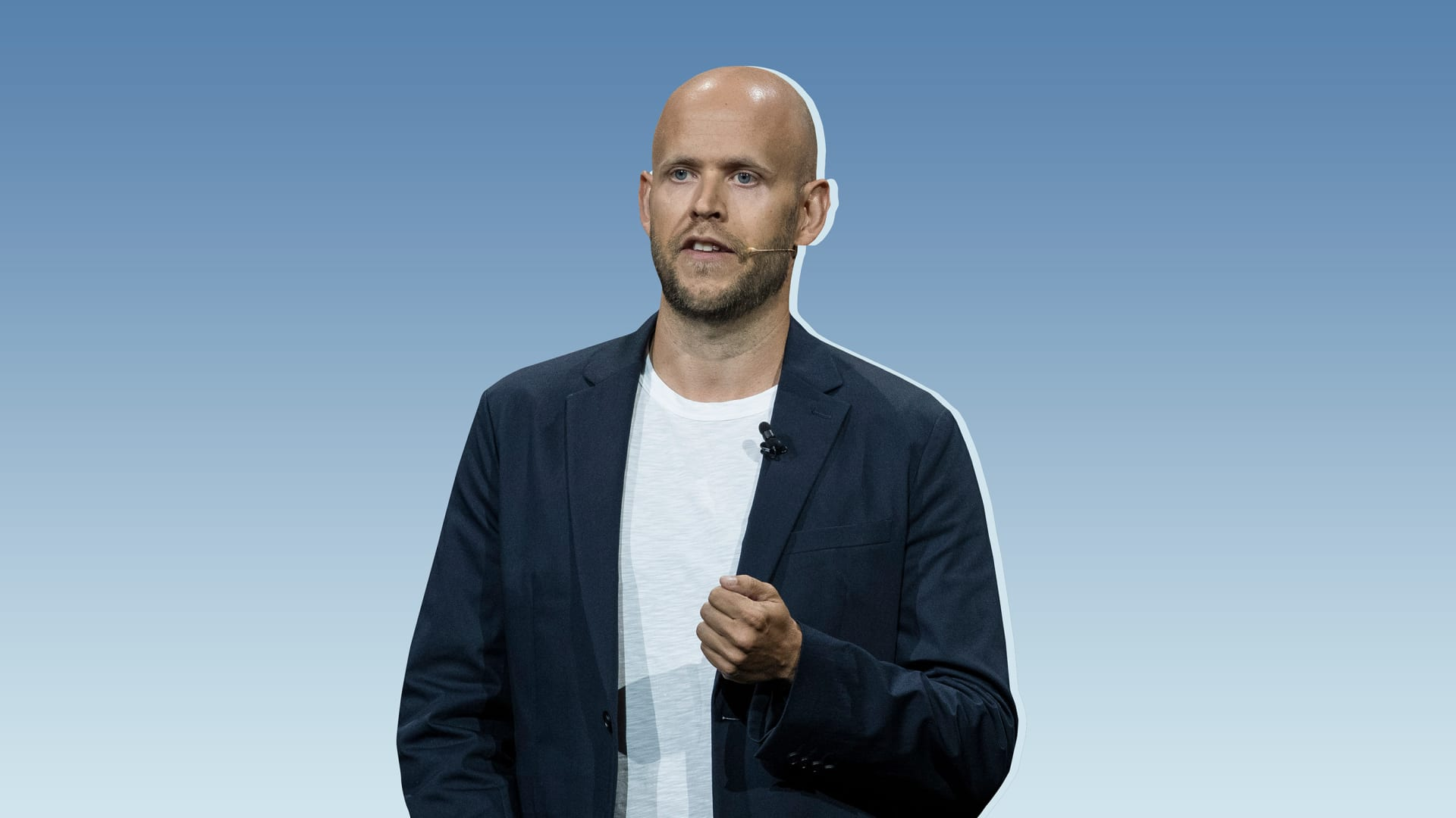 Daniel Ek.