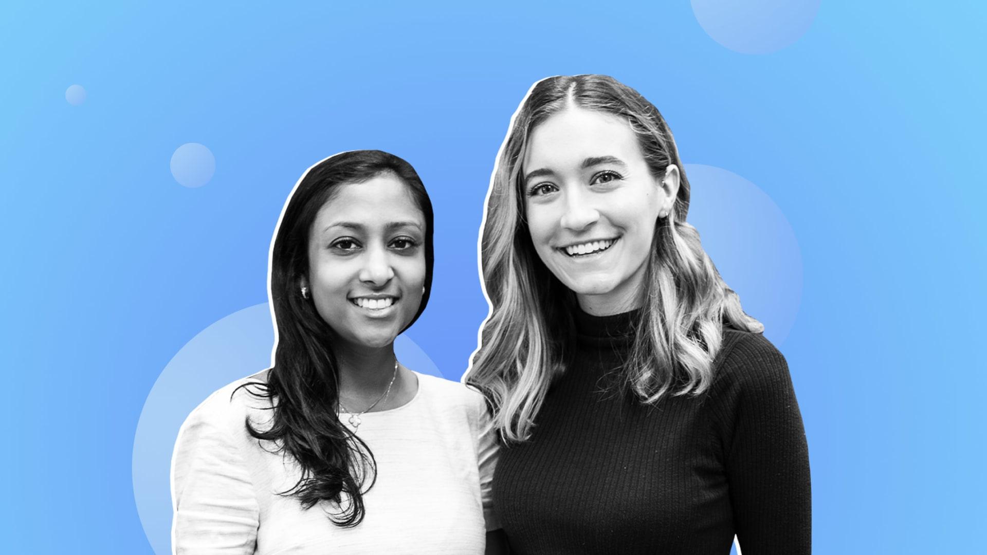 Priyanka Jain and Laine Bruzek.
