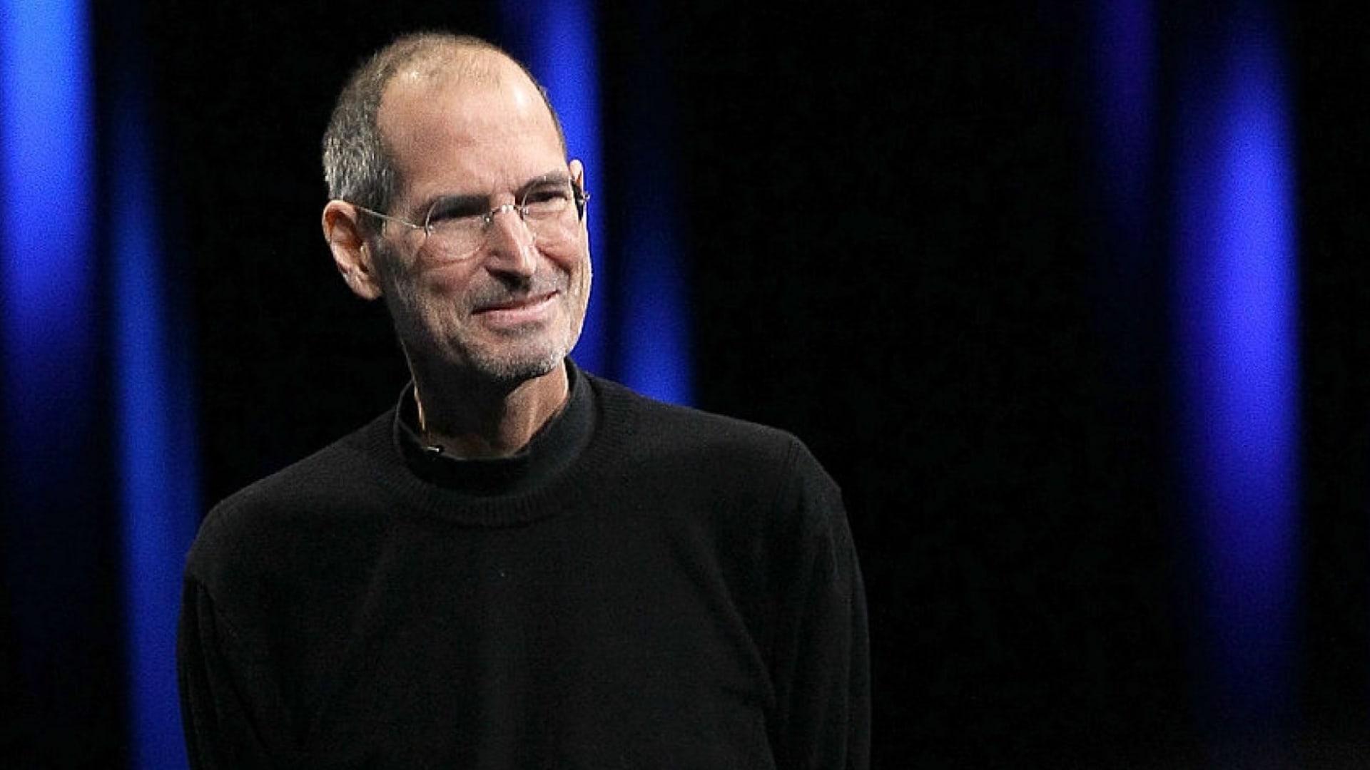 Apple co-founder Steve Jobs.
