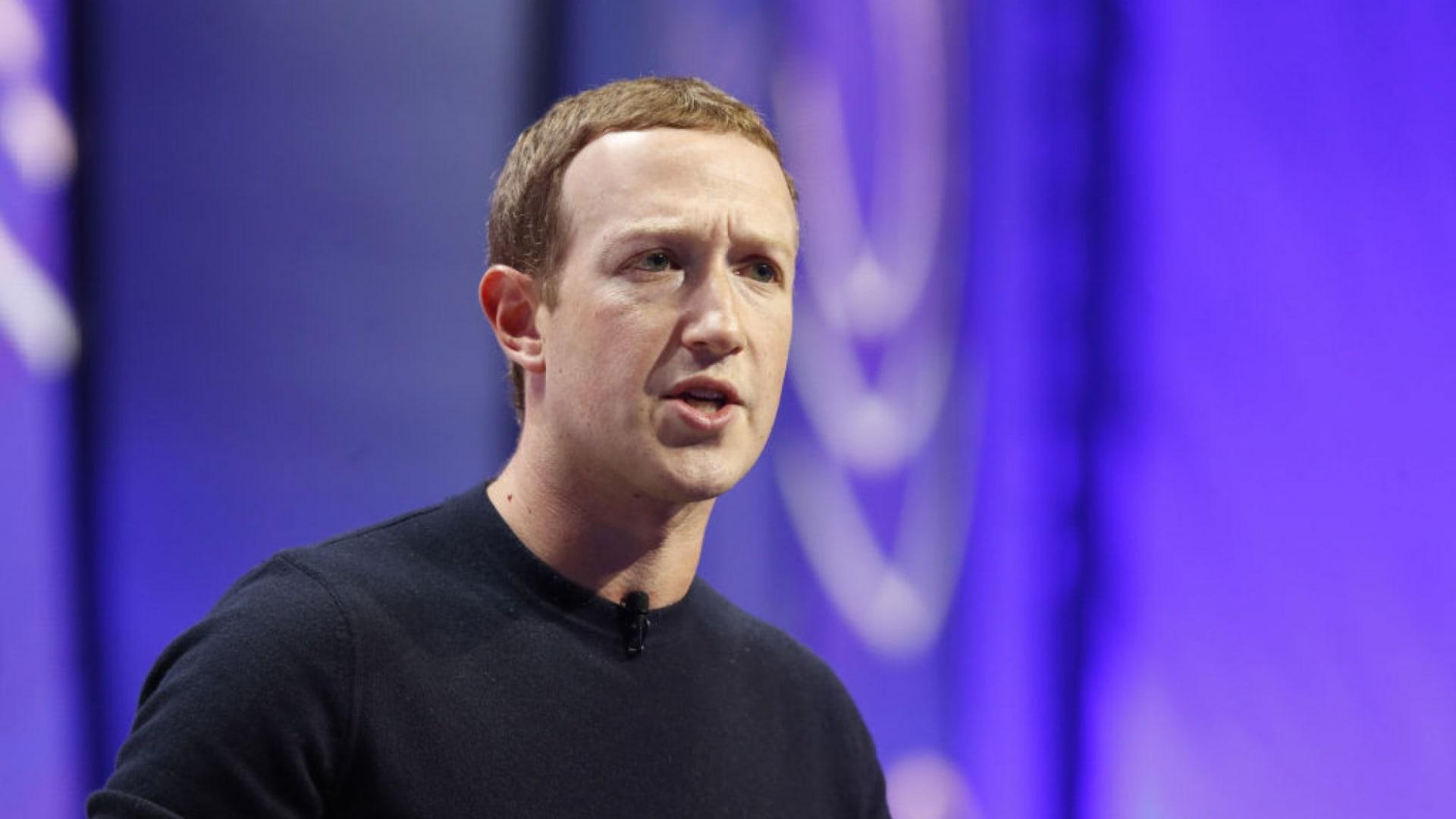 Mark Zuckerberg Says Combating Misinformation on Facebook Is Just Too Hard