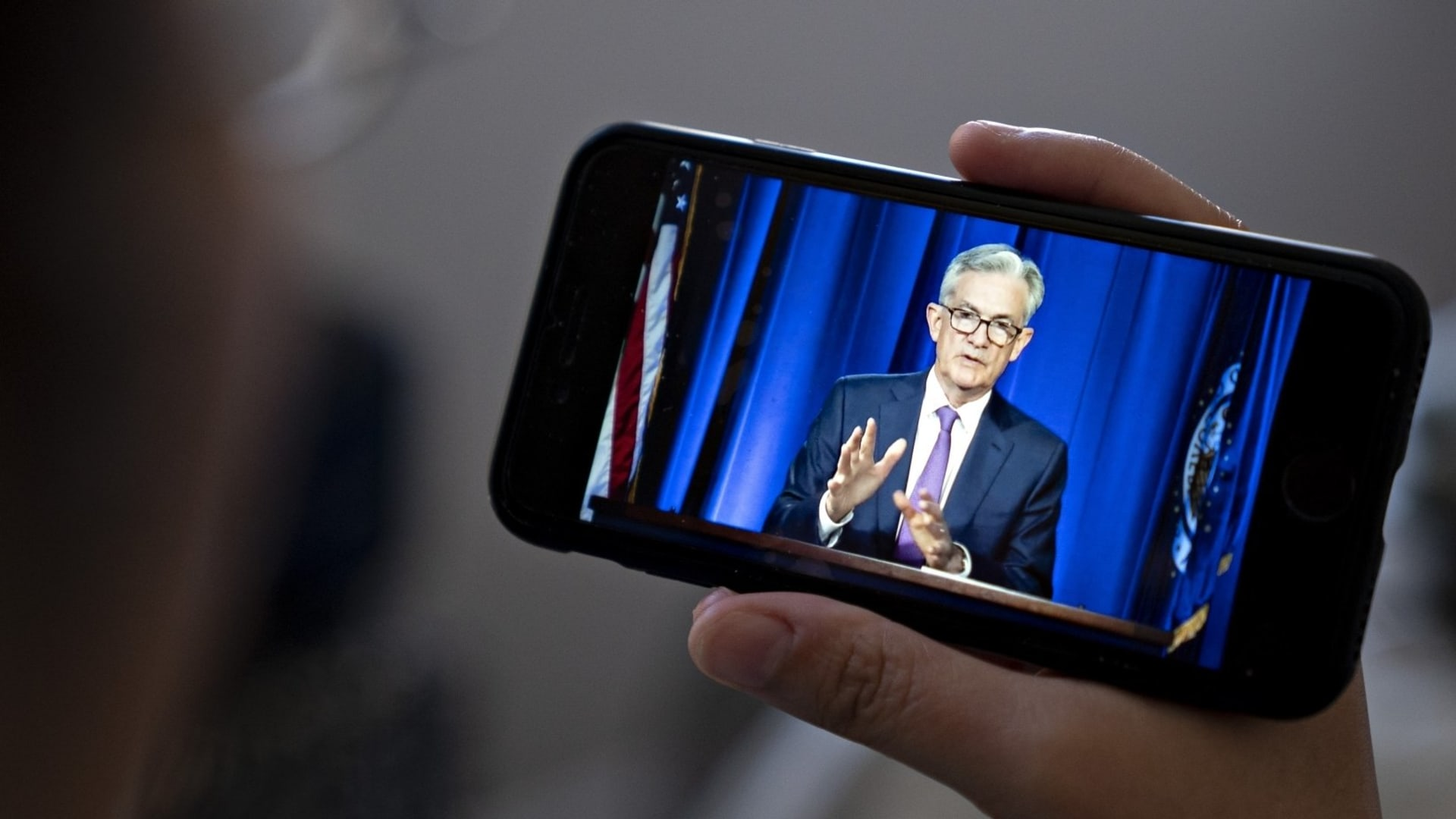 Jerome Powell, chairman of the Federal Reserve.