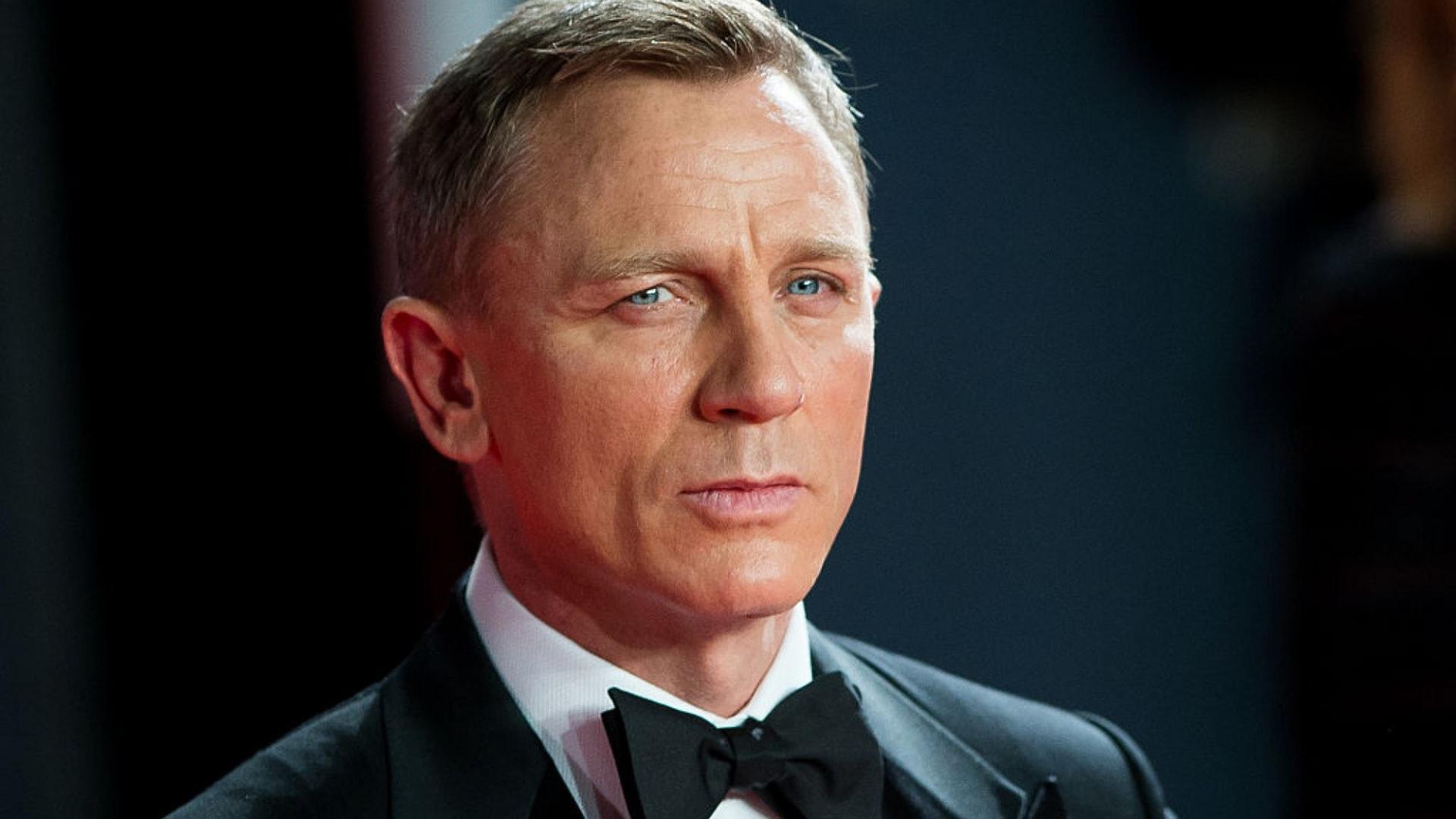 "Daniel Craig as James Bond in ""Spectre"" (2015)."