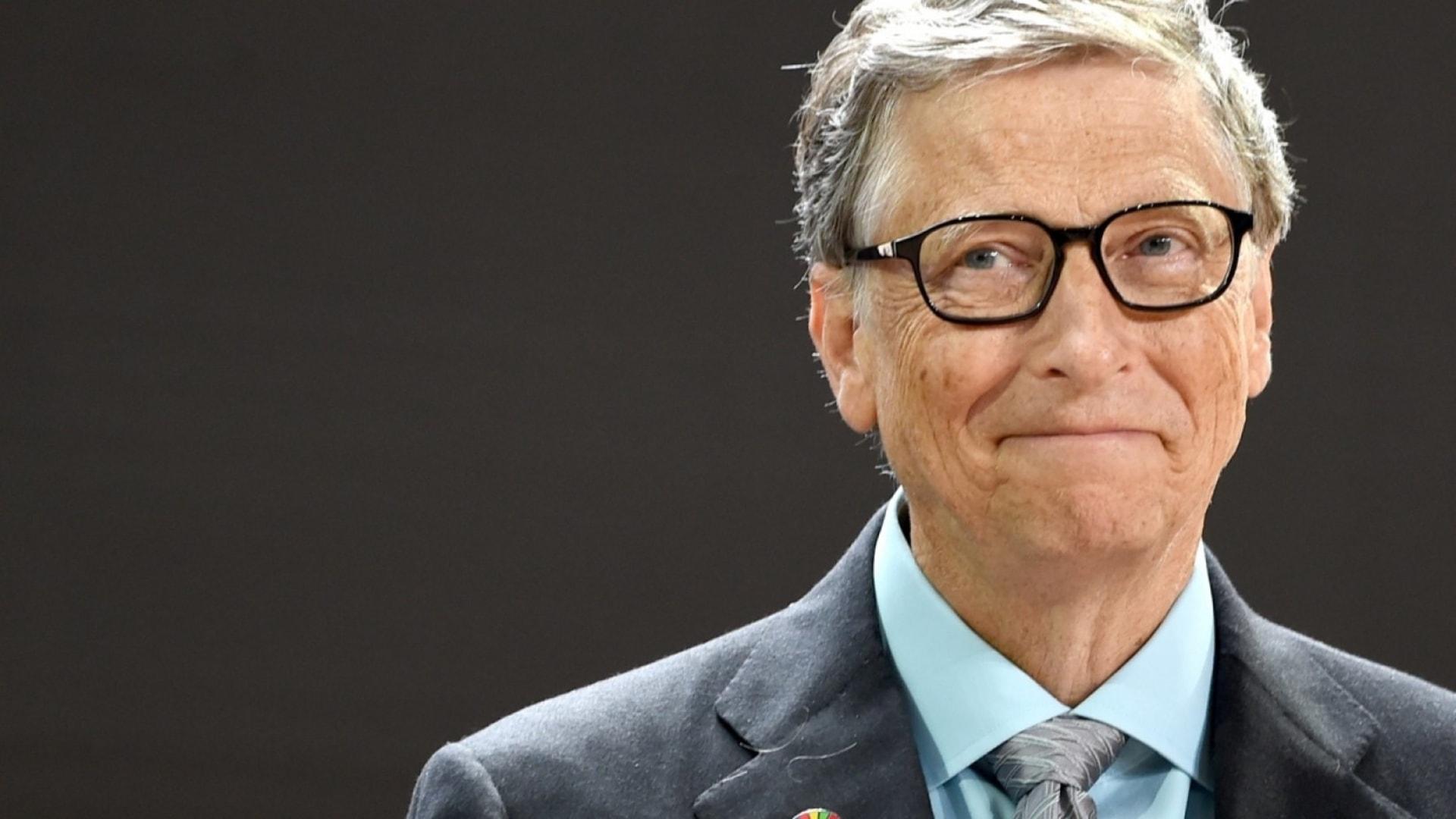 Microsoft co-founder Bill Gates.