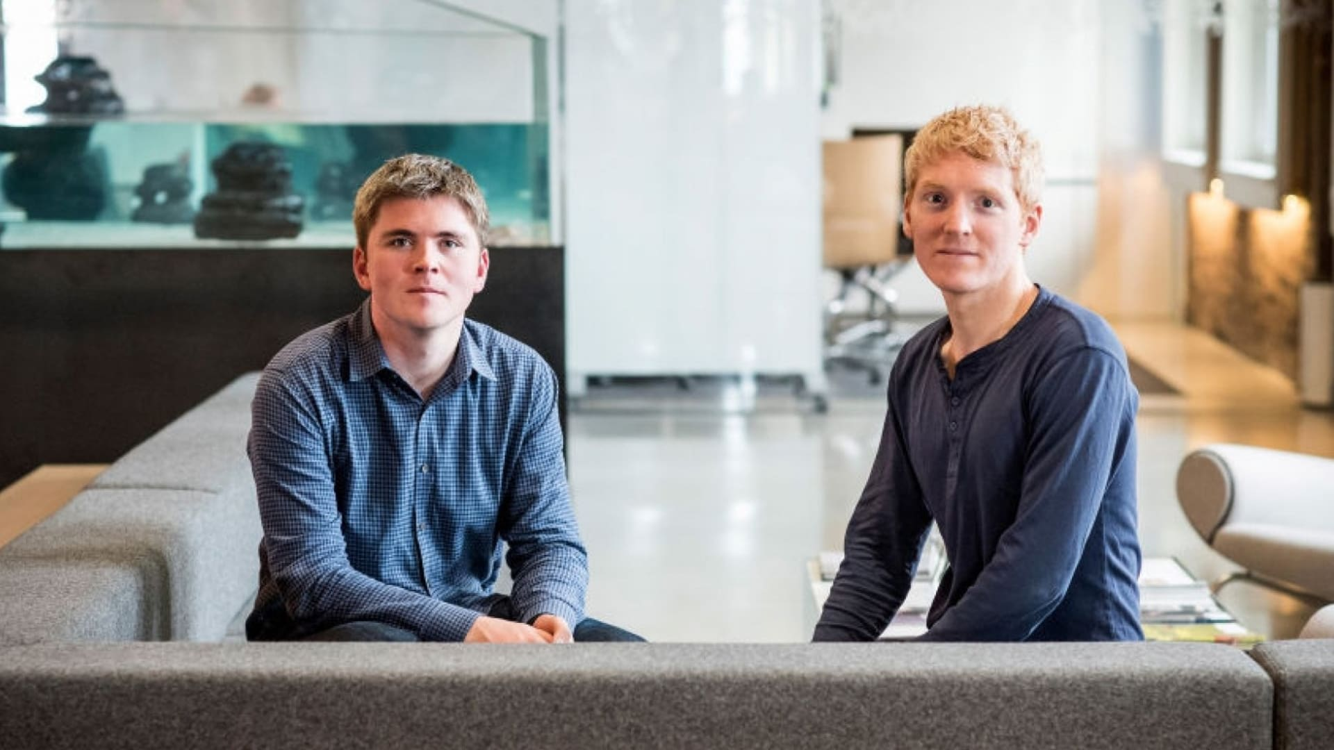John and Patrick Collison.