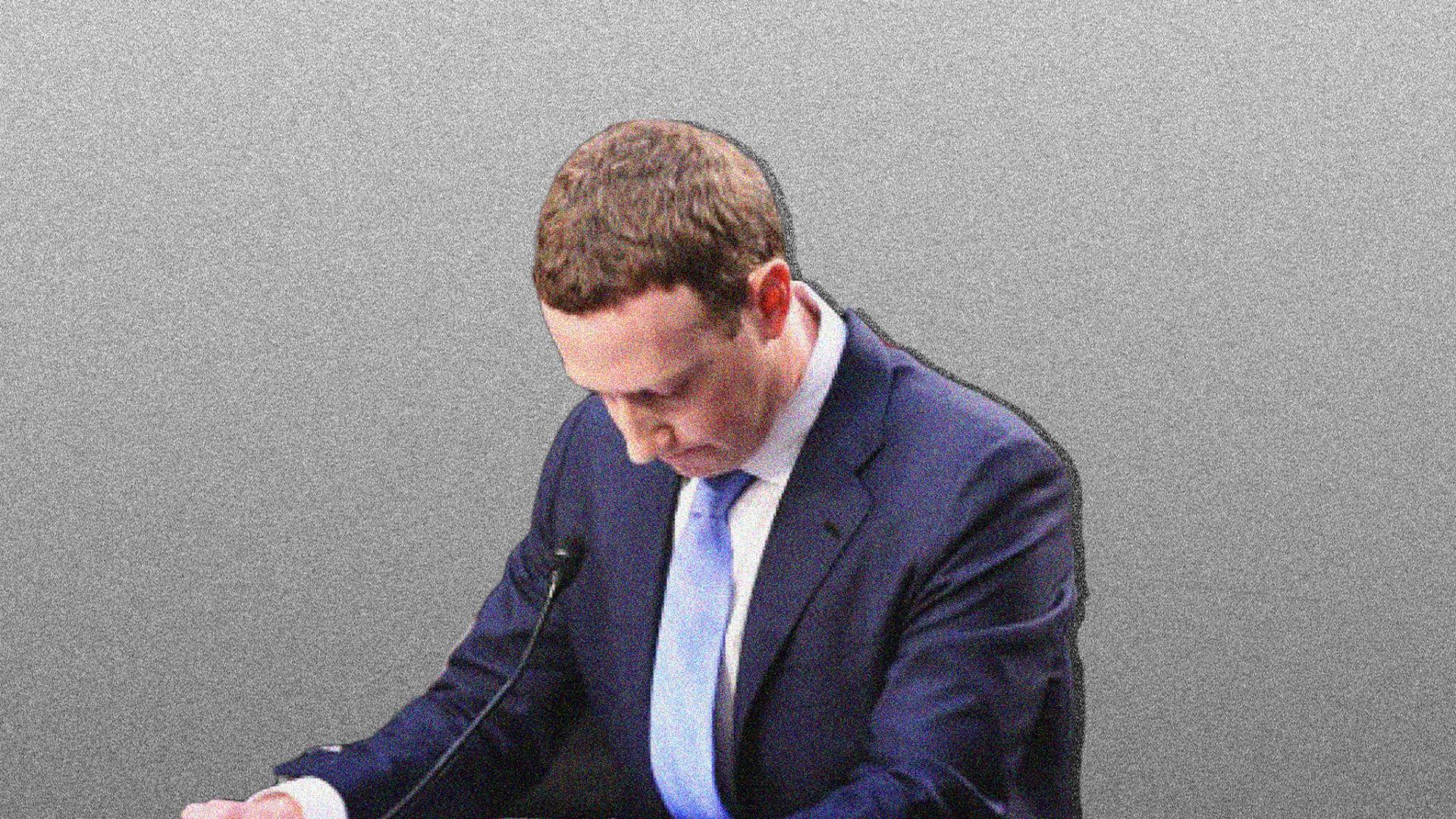Facebook founder Mark Zuckerberg.