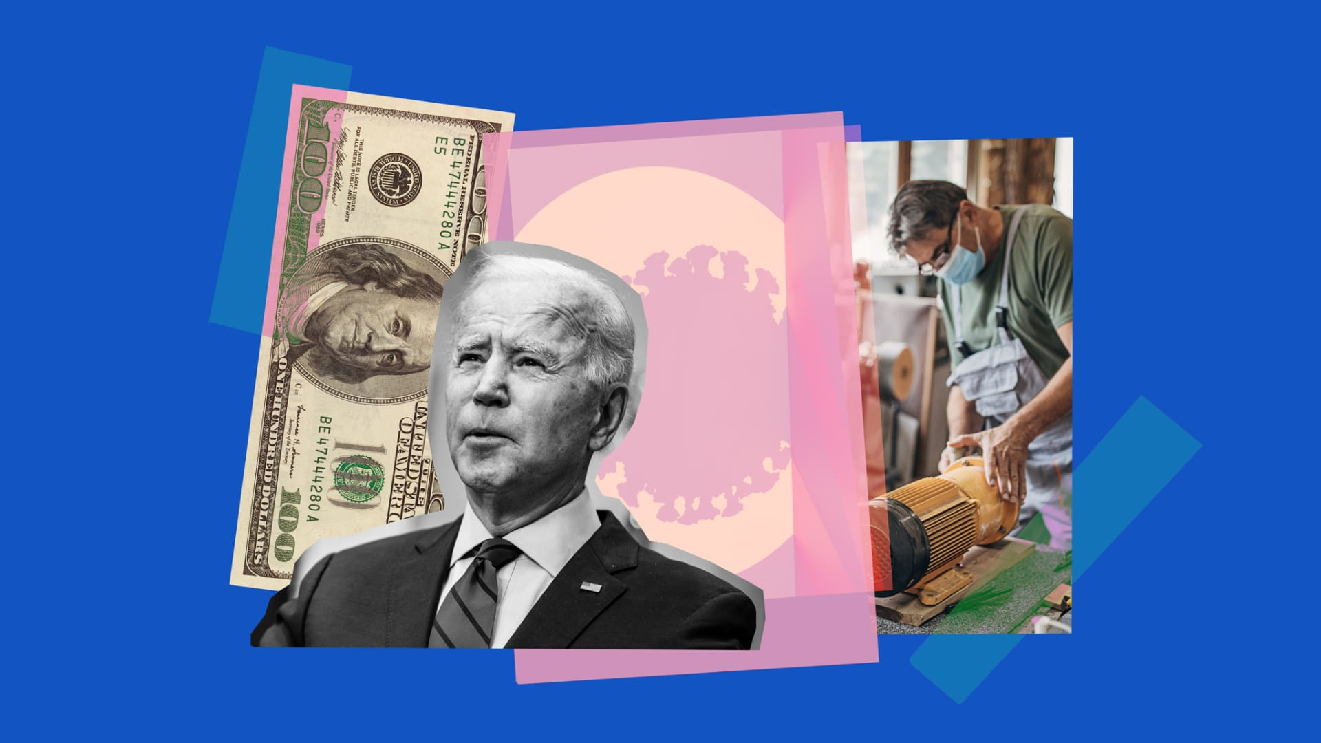 Biden Puts Focus on Business Owners as He Sets Goal for July 4 Normalcy