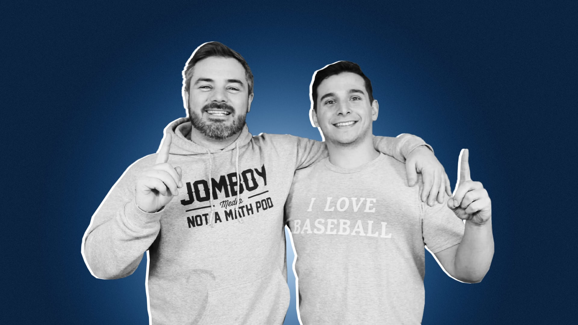 Jimmy O'Brien and Jake Storiale.